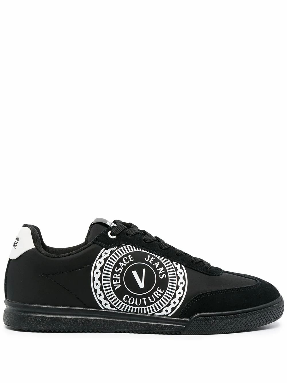 Versace Jeans Couture Low tops VERSACE JEANS MEN'S E0YWASO271942899 BLACK POLYESTER SNEAKERS