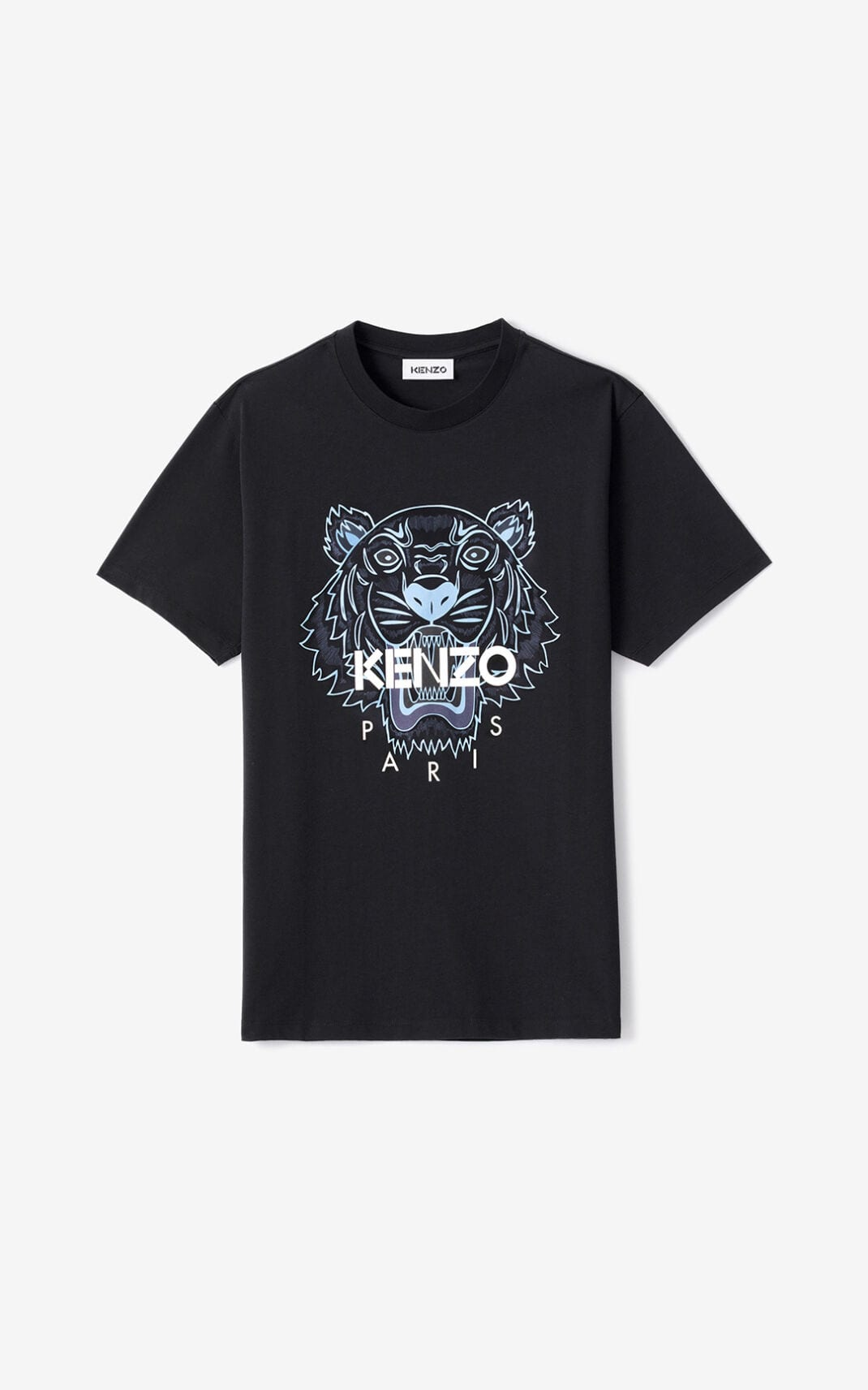 Kenzo KENZO TIGER T-SHIRT BLACK/BLUE