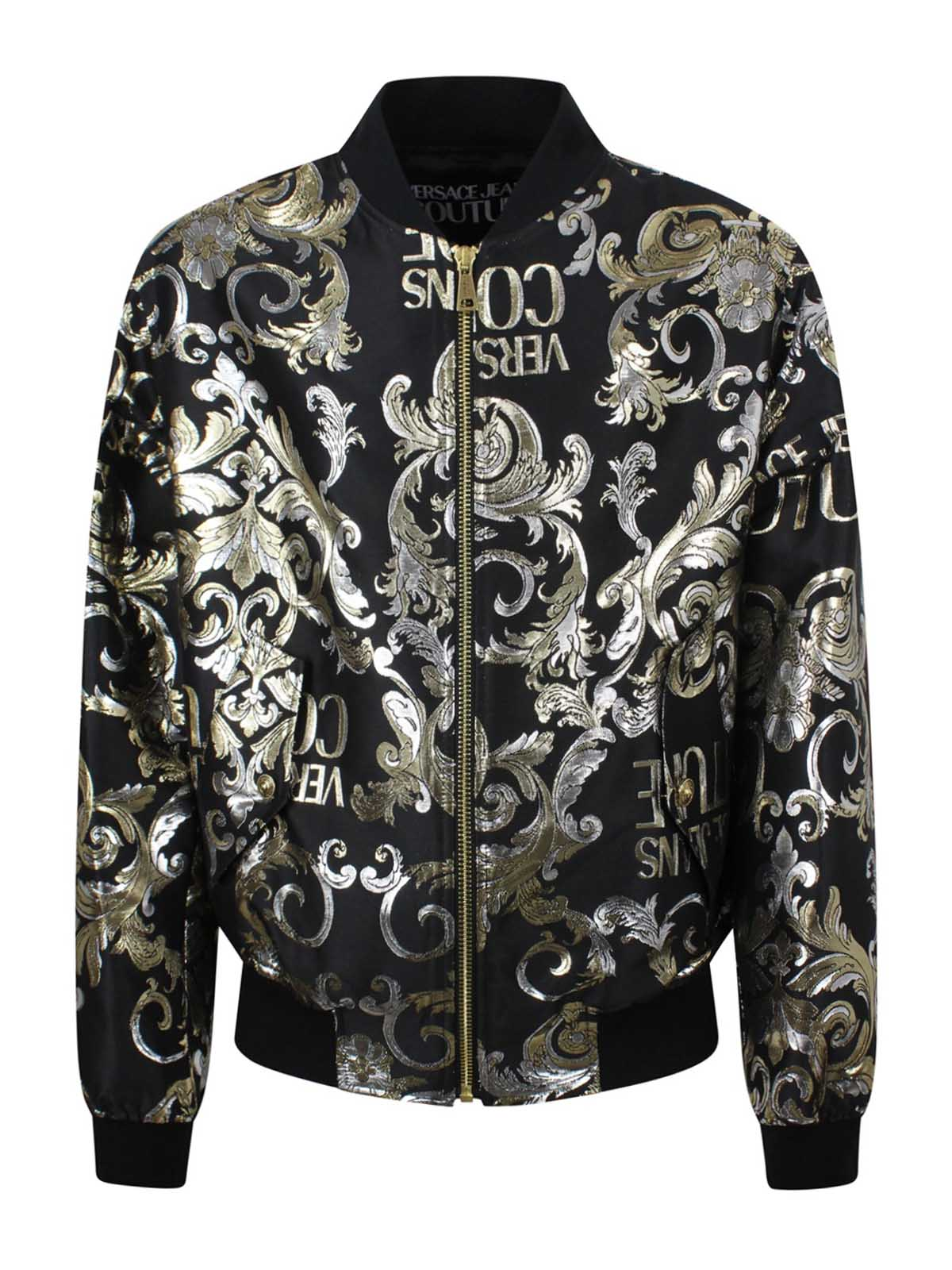 Versace Jeans Couture Cottons GOLD JACQUARD BROCCATO