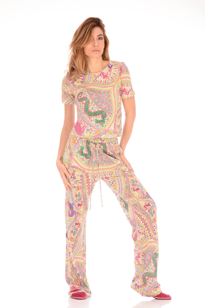 Etro Pants PRINTED TROUSERS ETRO