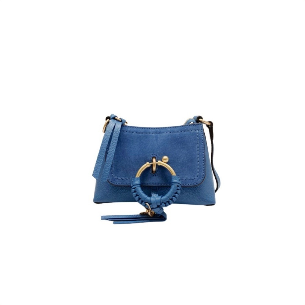 See By Chloé Leathers SEE BY CHLO - JOAN MINI CROSSBODY - MOONLIGHT BLUE