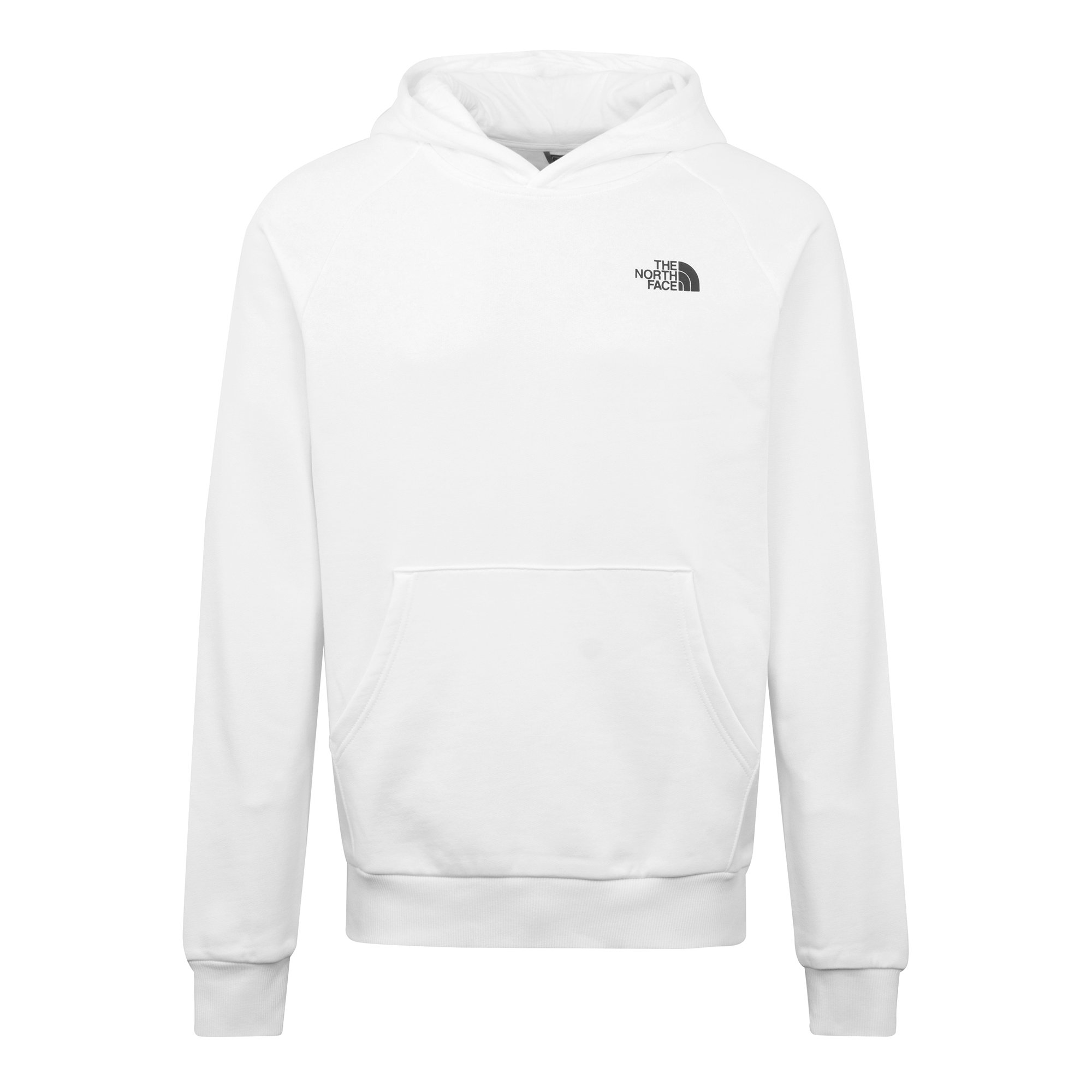 The North Face Cottons RAGLAN REDBOX HOODIE WHITE