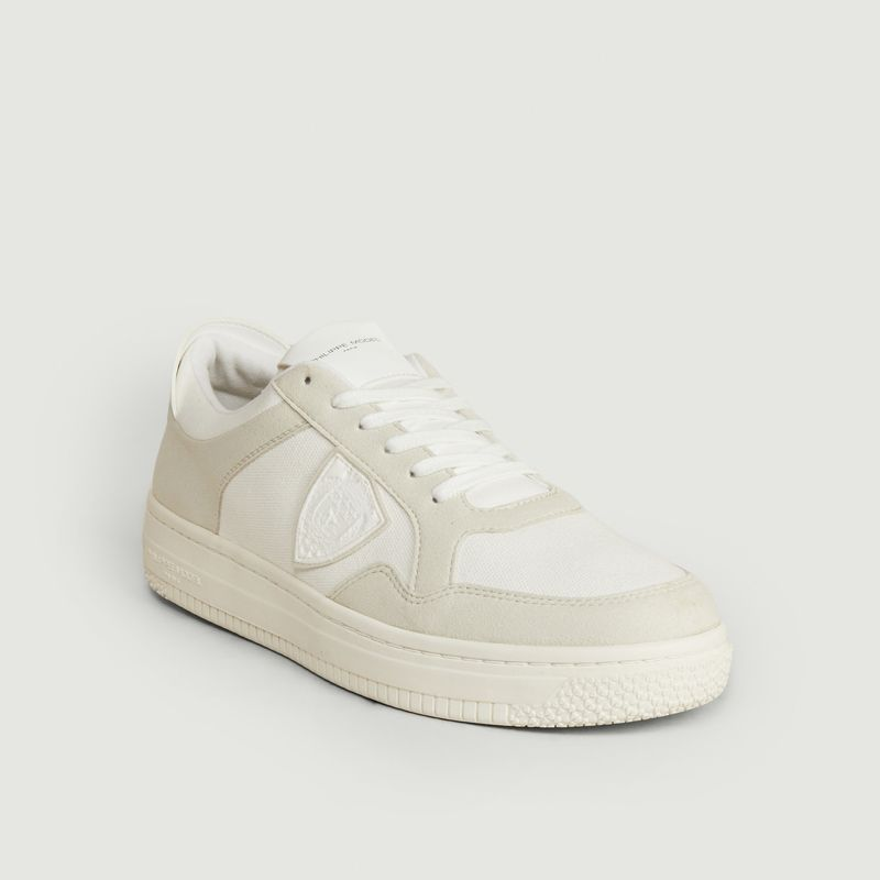Philippe Model Low tops ACBC X PHILIPPE MODEL LYON SNEAKERS COTON BLANC BEIGE PHILIPPE MODEL