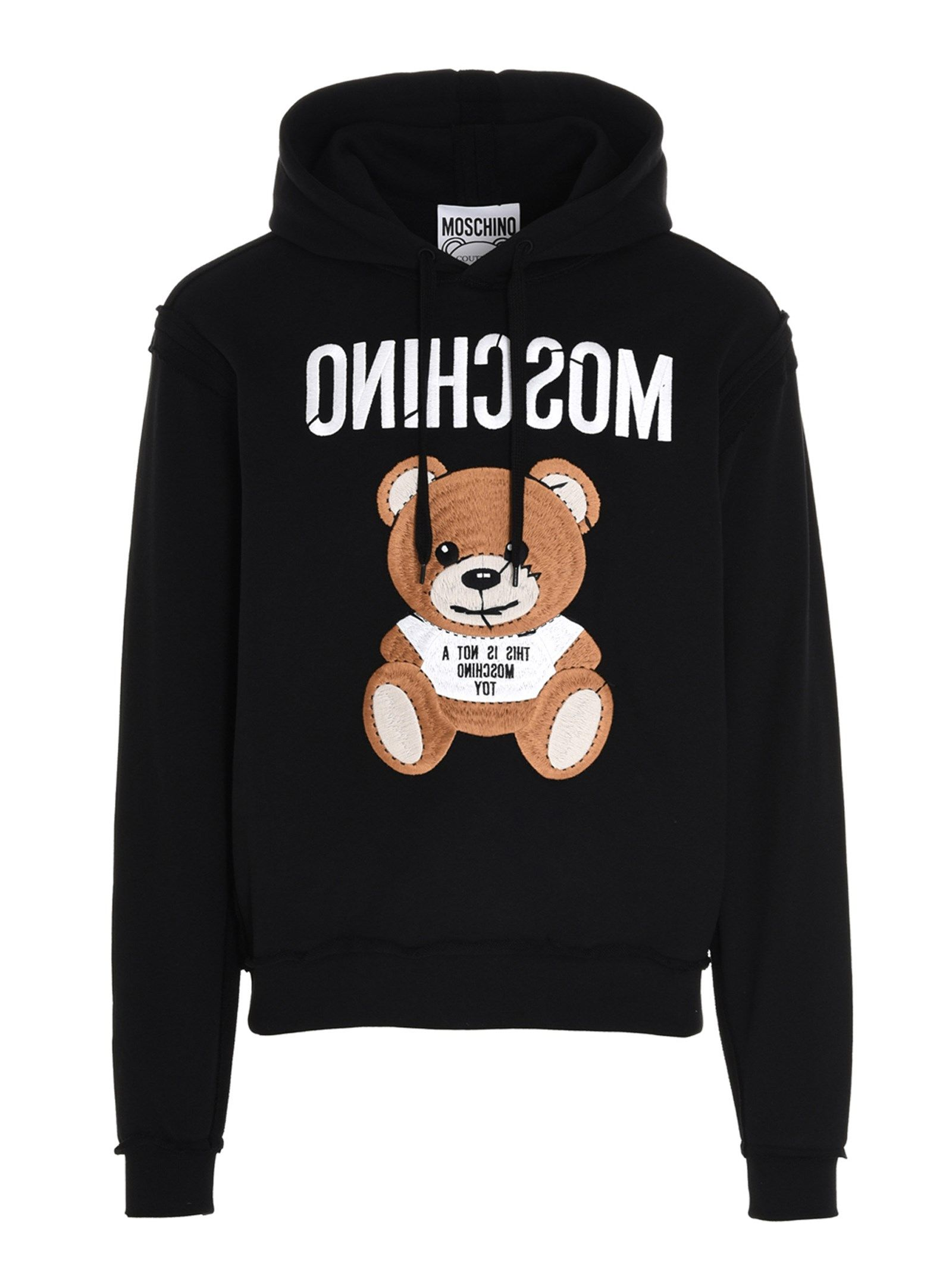 Moschino MOSCHINO MEN'S A177502271555 BLACK OTHER MATERIALS SWEATSHIRT