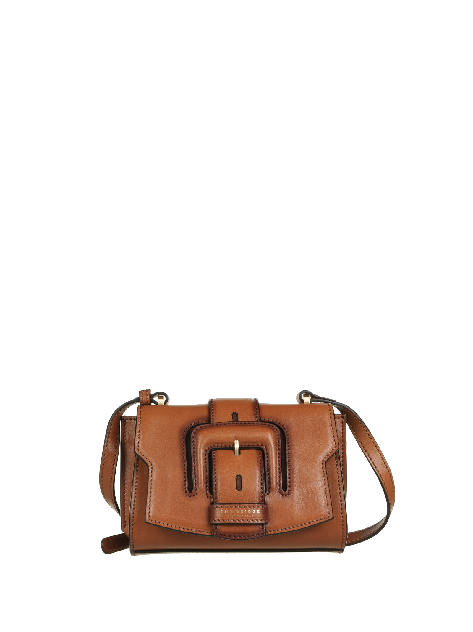 The Bridge BAGS. LEATHER BROWN