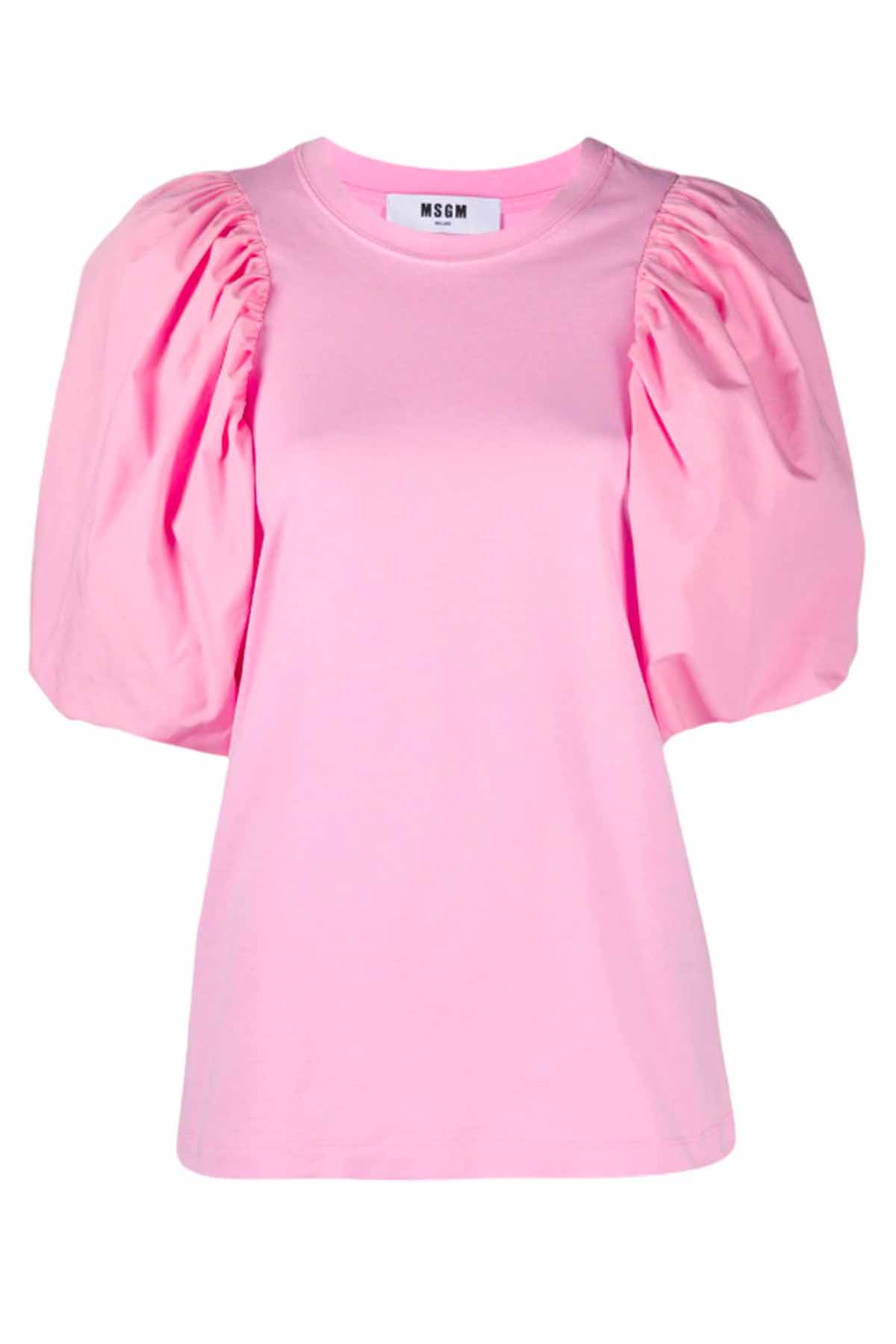 Msgm T-SHIRTS AND POLOS PINK