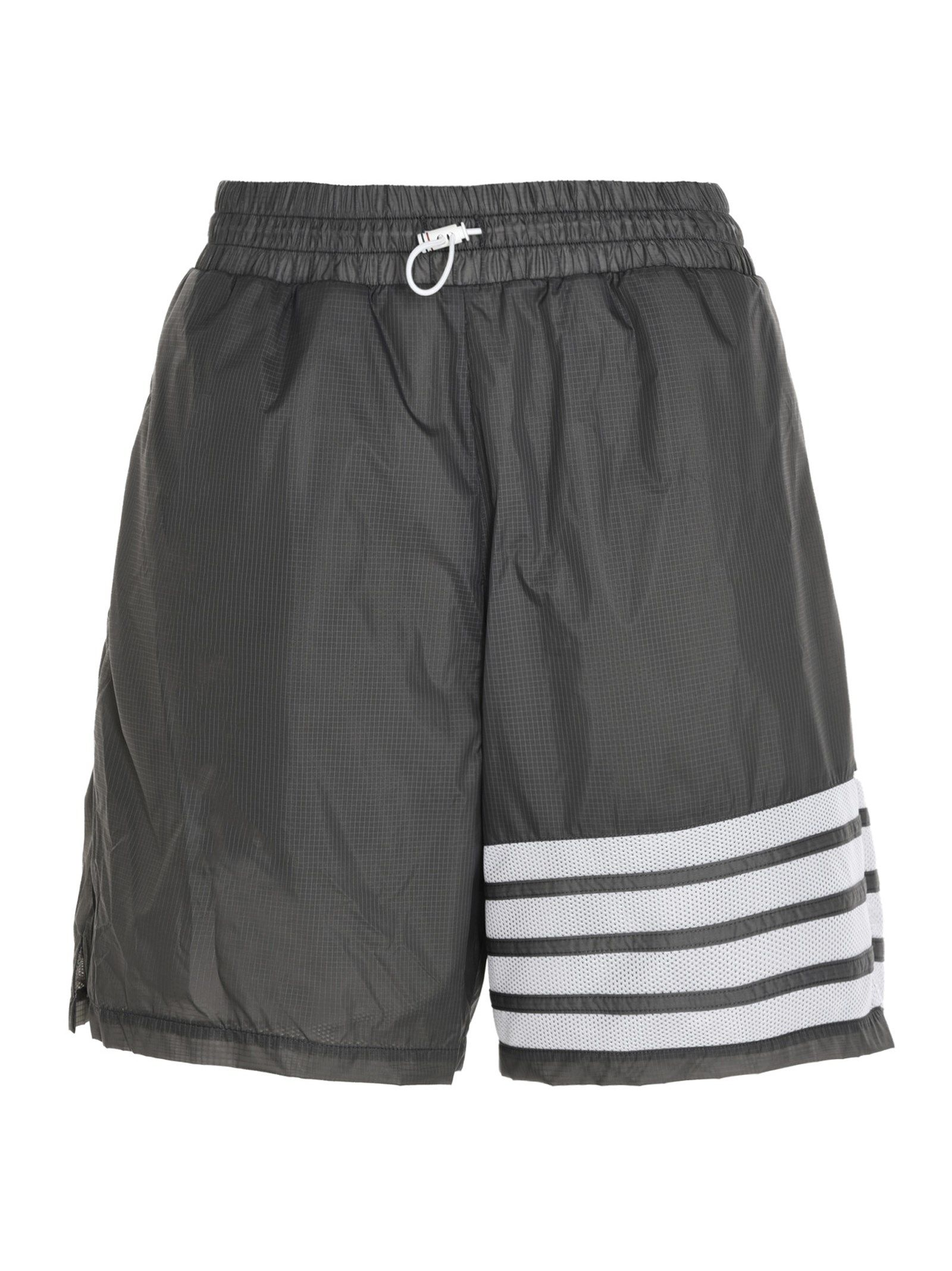 Thom Browne Shorts THOM BROWNE MEN'S MJQ107A06859045 GREY OTHER MATERIALS SHORTS