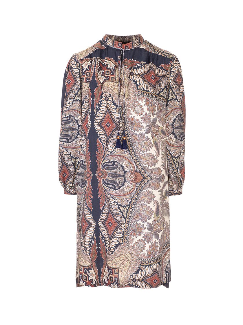 Etro Tops ETRO WOMEN'S 1419542580200 BROWN OTHER MATERIALS DRESS