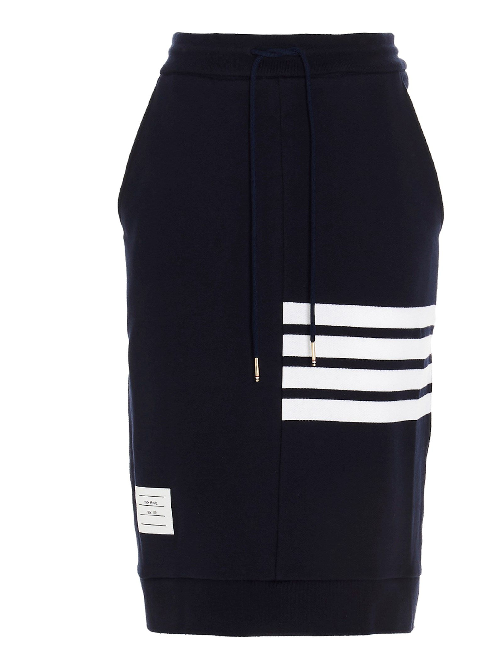 Thom Browne THOM BROWNE WOMEN'S FJK008A00535415 BLUE OTHER MATERIALS SKIRT