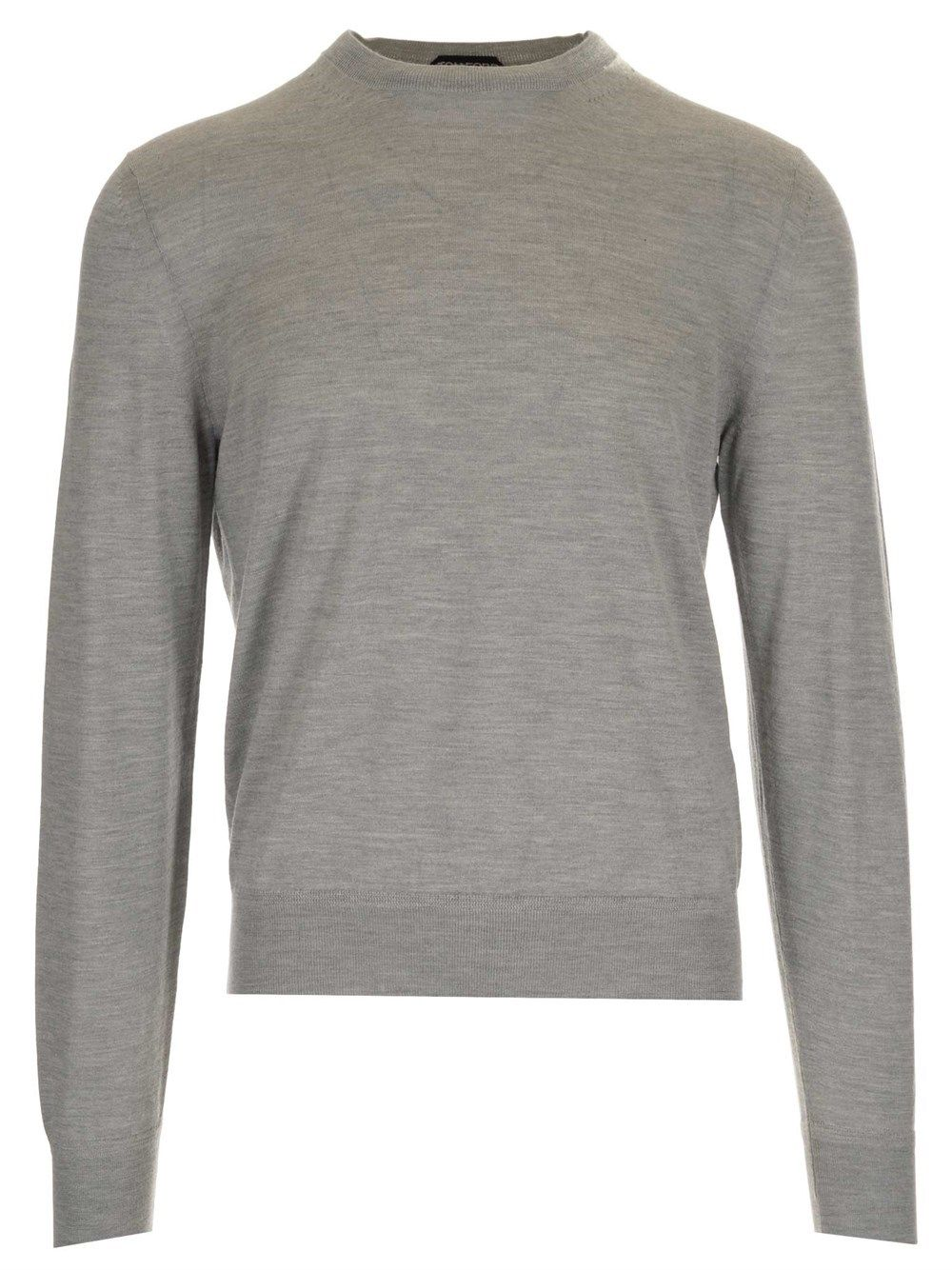 Tom Ford Silks TOM FORD MEN'S BWH99TFK110K04 GREY OTHER MATERIALS SWEATER
