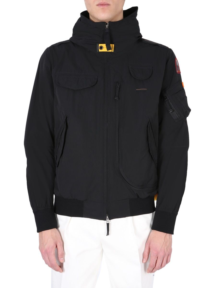 Parajumpers Jackets PARAJUMPERS MEN'S PMJCKMA01P06541 BLACK OTHER MATERIALS OUTERWEAR JACKET