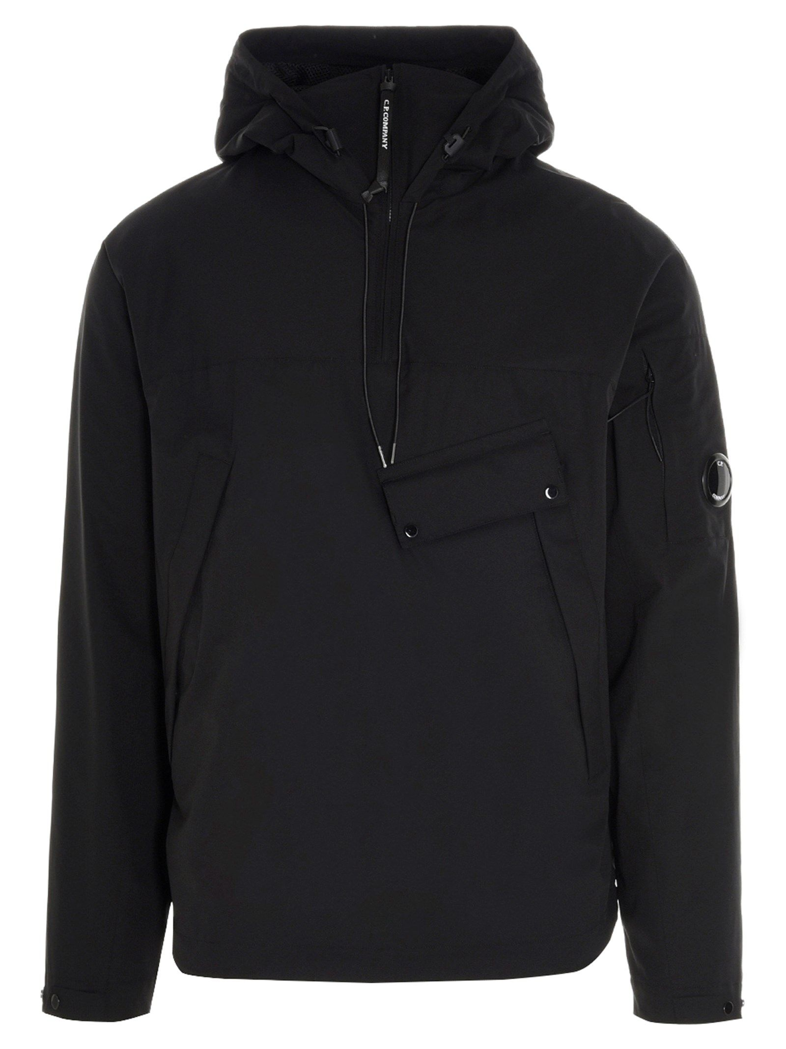 C.p. Company Jackets CP COMPANY MEN'S 10CMOW016A004117A999 BLACK OTHER MATERIALS OUTERWEAR JACKET