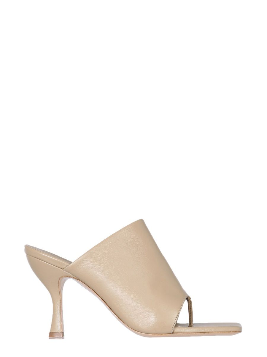 Gia Couture GIA COUTURE WOMEN'S PERNI0209 BEIGE OTHER MATERIALS SANDALS