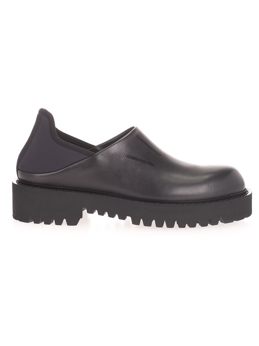 Valentino Loafers VALENTINO GARAVANI MEN'S VY2S0E05TRW0NO BLACK OTHER MATERIALS LACE-UP SHOES
