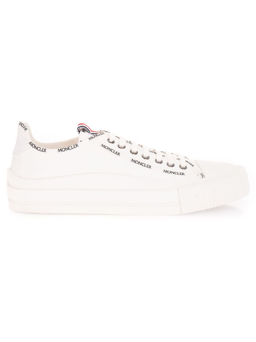 Moncler MONCLER MEN'S 4M7384002SS9032 WHITE OTHER MATERIALS SNEAKERS