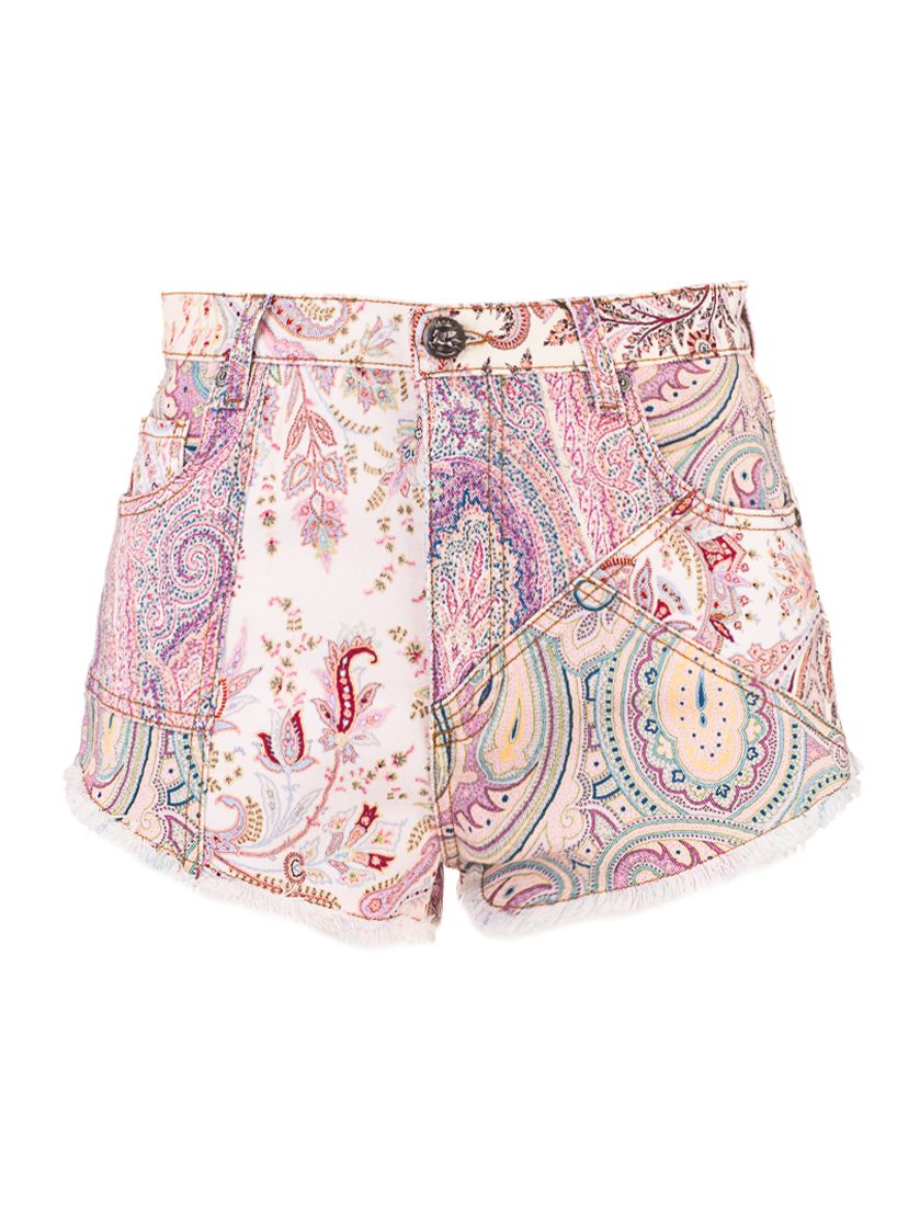 Etro Shorts ETRO WOMEN'S 1445294600650 PINK OTHER MATERIALS SHORTS
