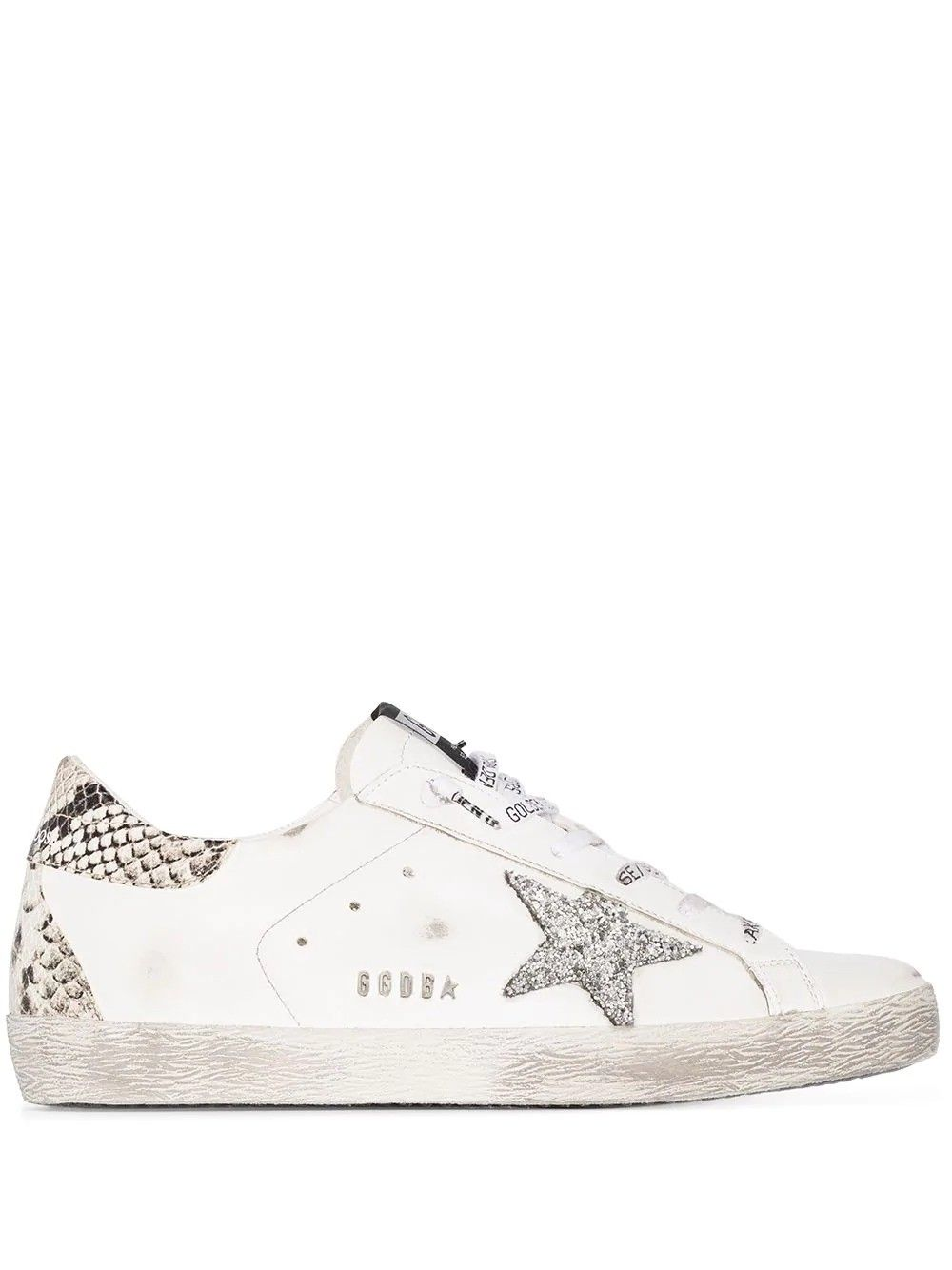 Golden Goose Low tops GOLDEN GOOSE WOMEN'S GWF00102F00076110402 WHITE LEATHER SNEAKERS