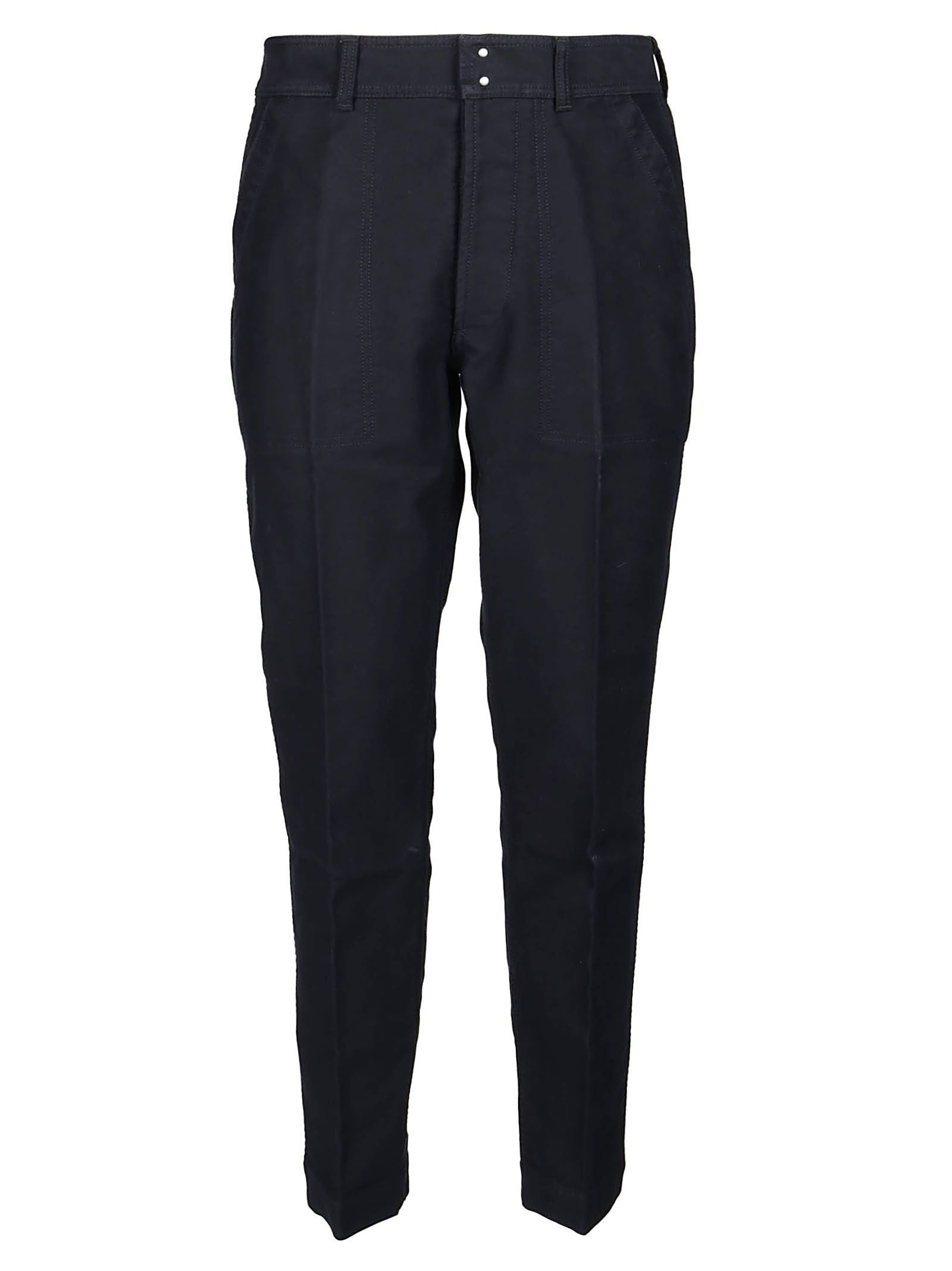 Tom Ford Cottons TOM FORD MEN'S TFP251BW128B09 BLUE COTTON PANTS