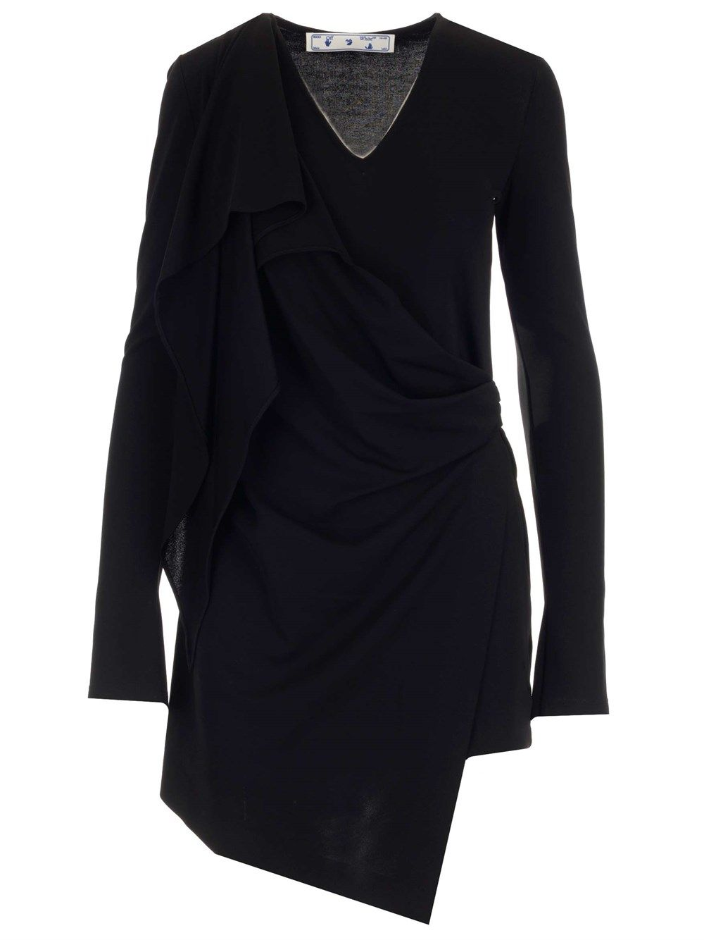 Off-White Dresses OFF-WHITE WOMEN'S OWDB309S21FAB0011001 BLACK OTHER MATERIALS DRESS