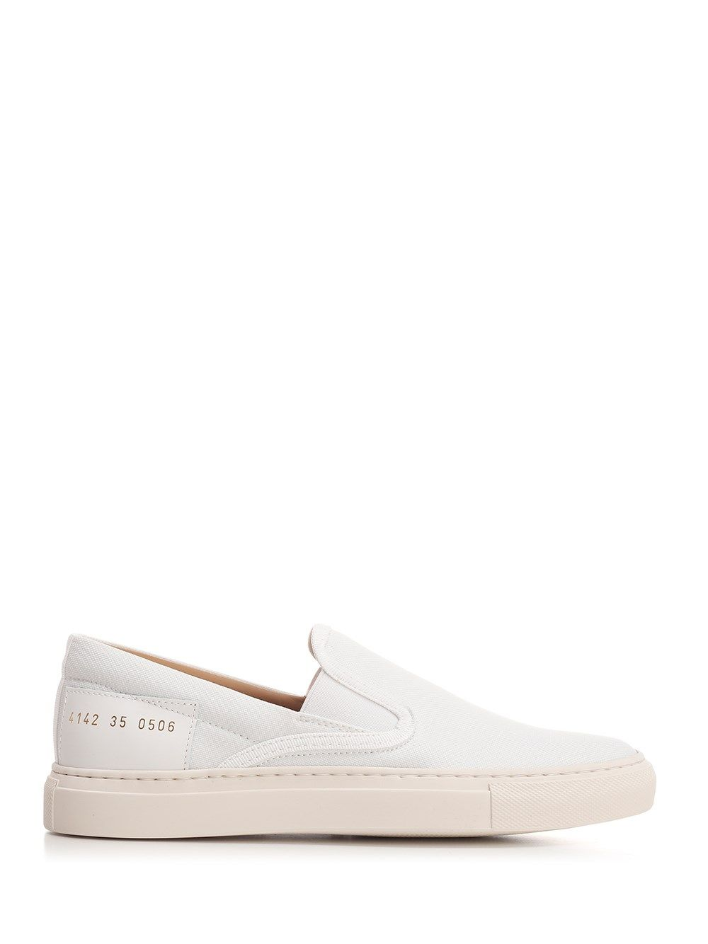 Common Projects Canvases COMMON PROJECTS WOMEN'S 41420506 WHITE OTHER MATERIALS SNEAKERS