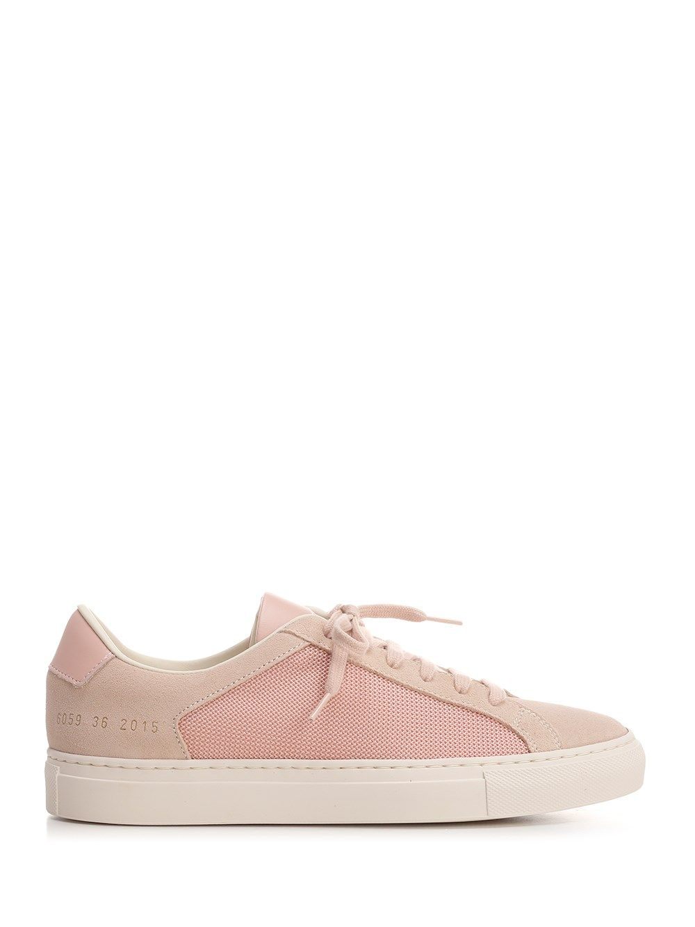 Common Projects COMMON PROJECTS WOMEN'S 60592015 PINK OTHER MATERIALS SNEAKERS