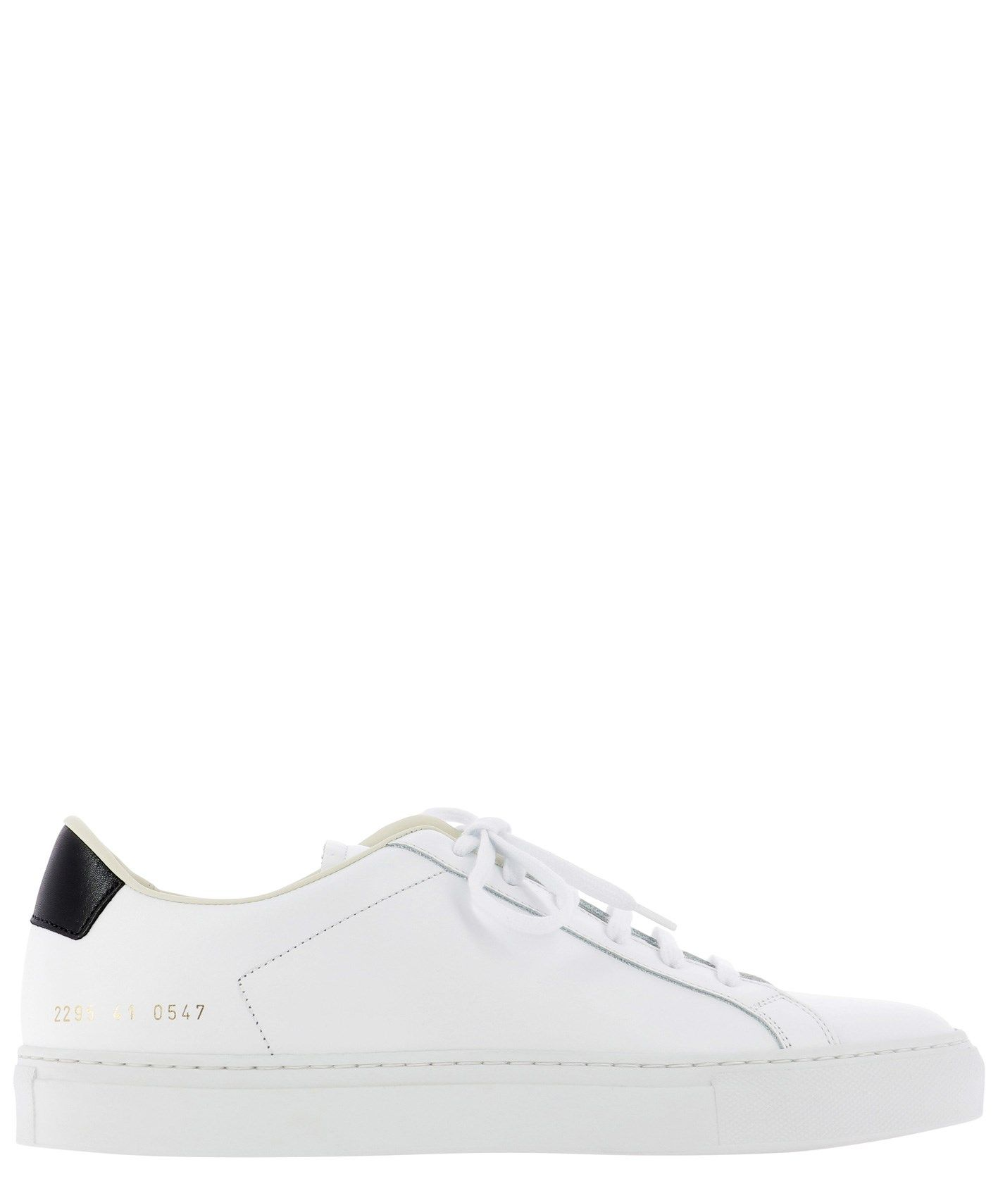 Common Projects COMMON PROJECTS MEN'S 22950547 WHITE OTHER MATERIALS SNEAKERS
