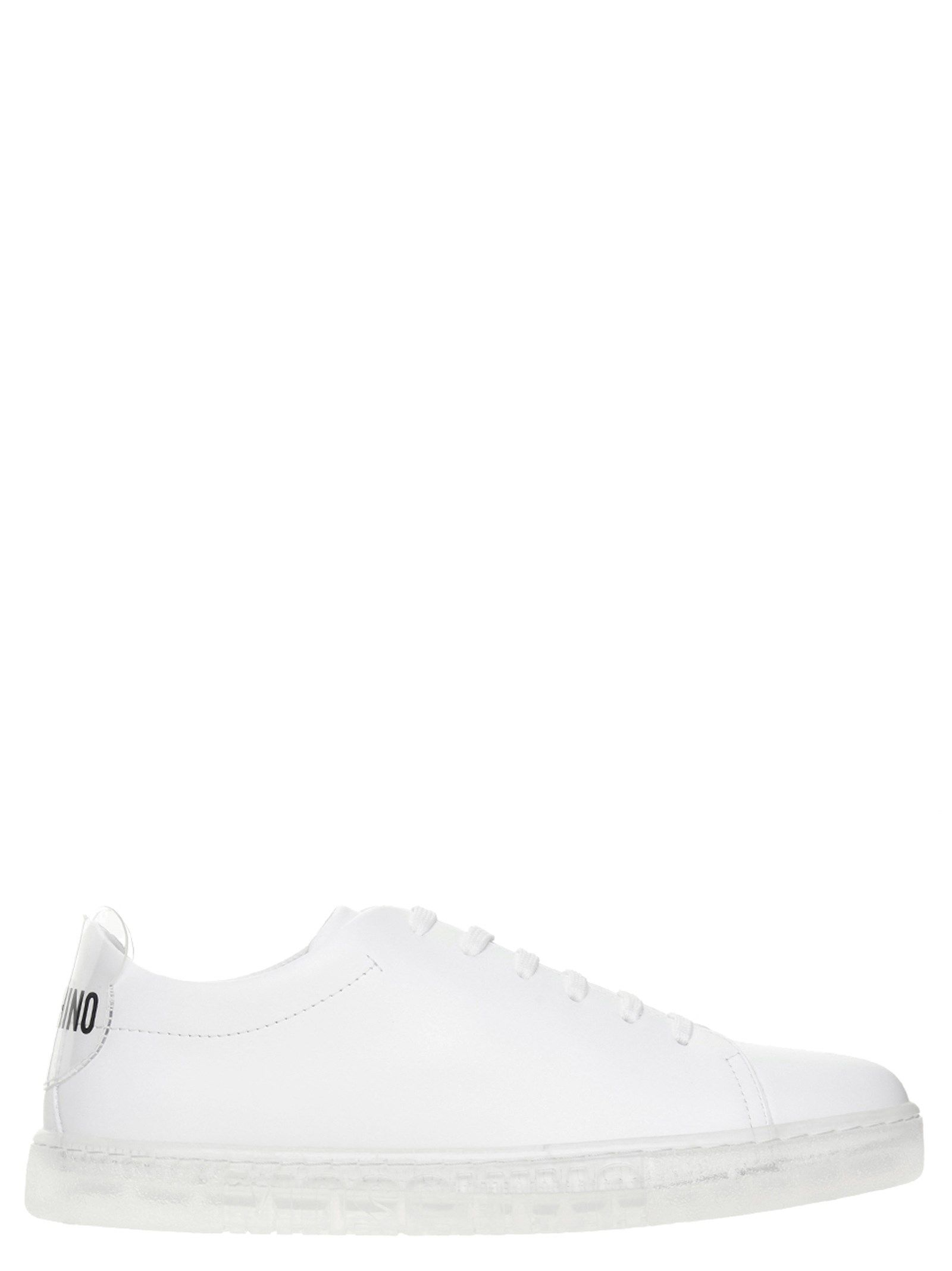 Moschino Low tops MOSCHINO WOMEN'S MA15012G1CMF410A WHITE OTHER MATERIALS SNEAKERS