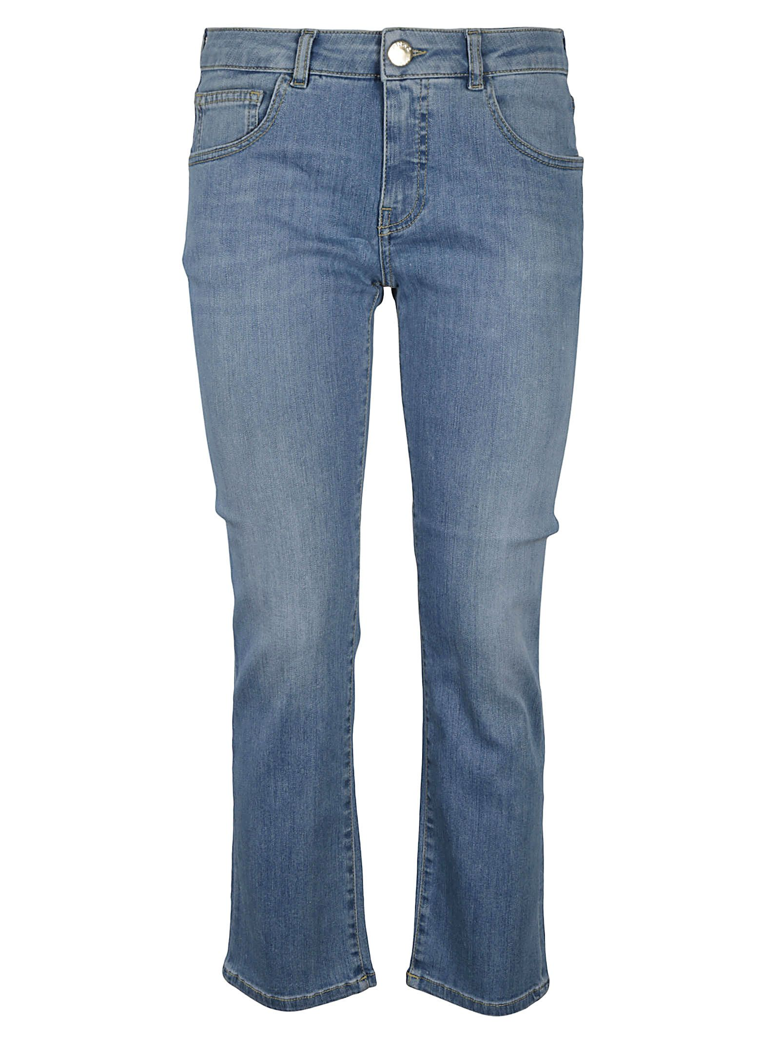 Pinko Cottons PINKO WOMEN'S 1J10NJY6VNF14 BLUE OTHER MATERIALS JEANS
