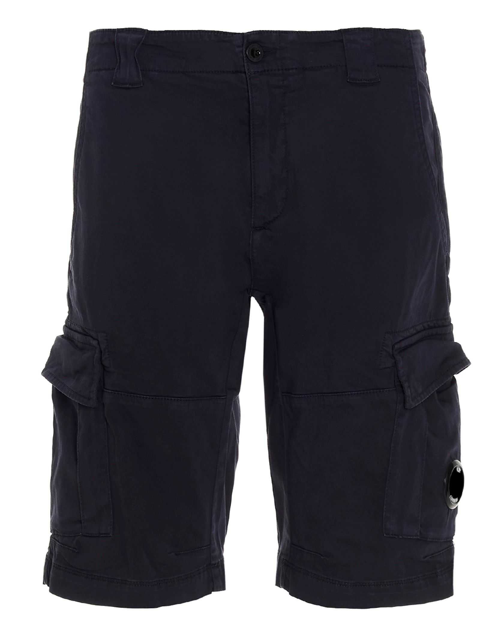 C.p. Company Shorts CP COMPANY MEN'S 10CMBE277A005694G888 BLUE OTHER MATERIALS SHORTS