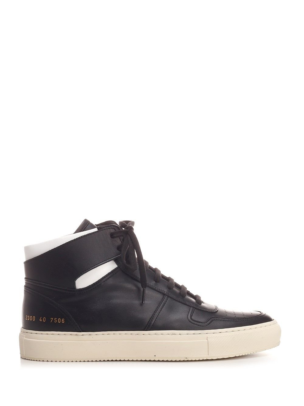 Common Projects Leathers COMMON PROJECTS MEN'S 23007506 BLACK OTHER MATERIALS SNEAKERS