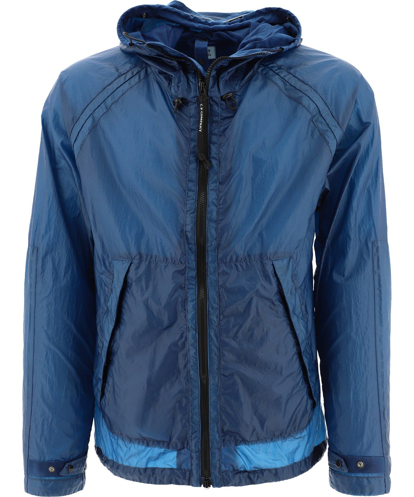 C.p. Company Jackets CP COMPANY MEN'S 10CMOW181A005576G870 BLUE POLYAMIDE OUTERWEAR JACKET