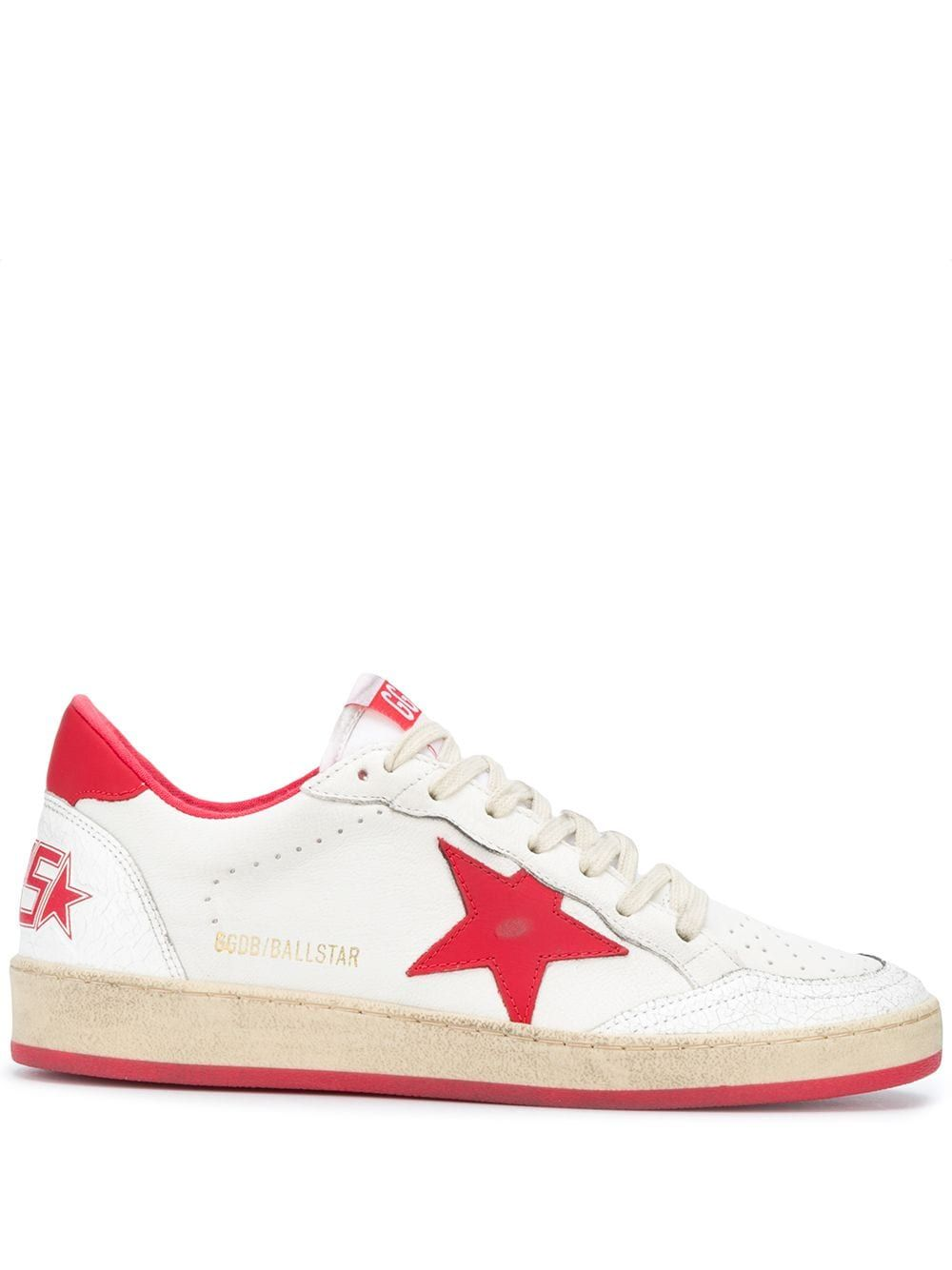 Golden Goose Low tops GOLDEN GOOSE WOMEN'S G36WS592A5 WHITE LEATHER SNEAKERS