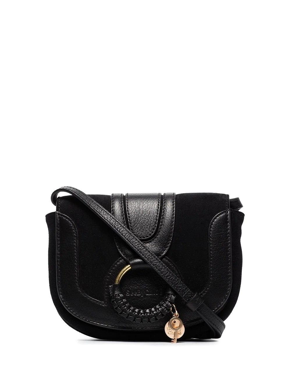 See By Chloé Leathers SEE BY CHLO WOMEN'S CHS18AS901417001 BLACK LEATHER SHOULDER BAG