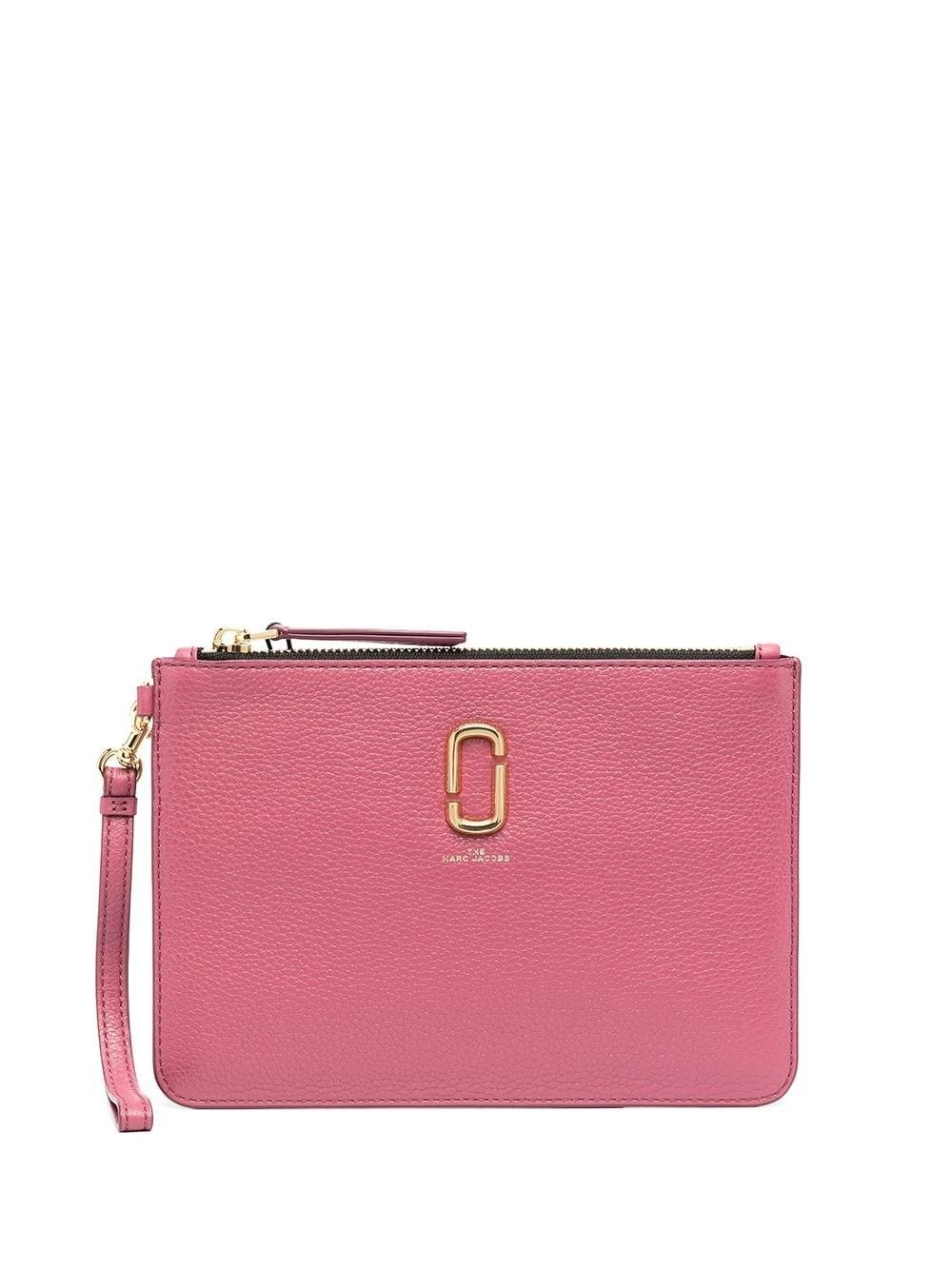 Marc Jacobs MARC JACOBS WOMEN'S M0017043514 PINK LEATHER POUCH
