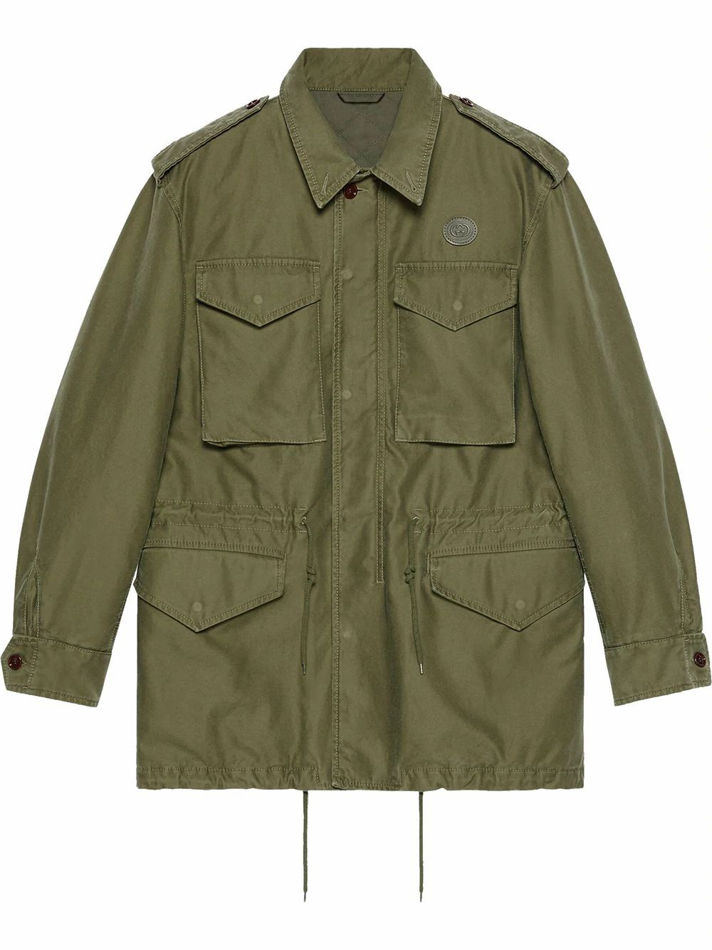 Gucci Cottons GUCCI MEN'S 640355XDBHZ3281 GREEN COTTON JACKET