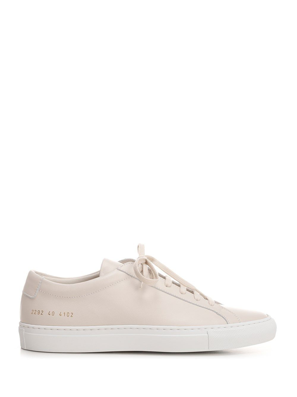 Common Projects COMMON PROJECTS MEN'S 22924102 WHITE OTHER MATERIALS SNEAKERS