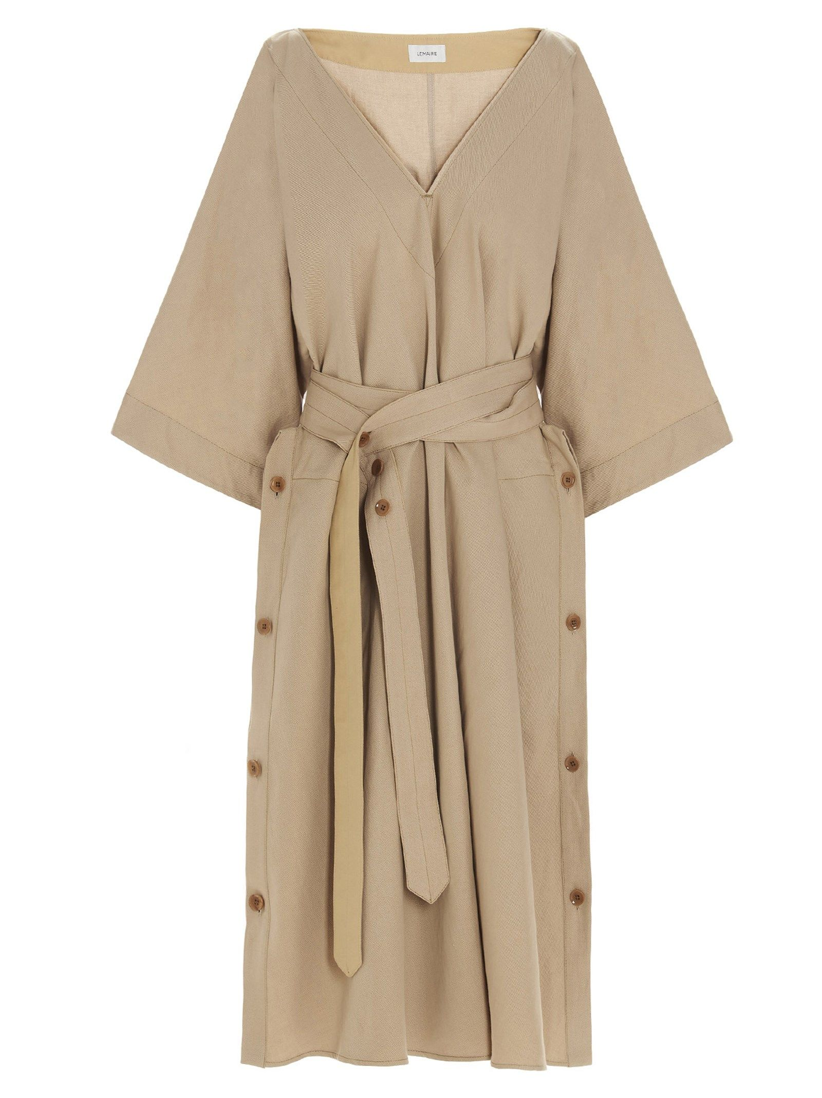 Lemaire Clothing LEMAIRE WOMEN'S W211DR285LF546215 BEIGE OTHER MATERIALS DRESS