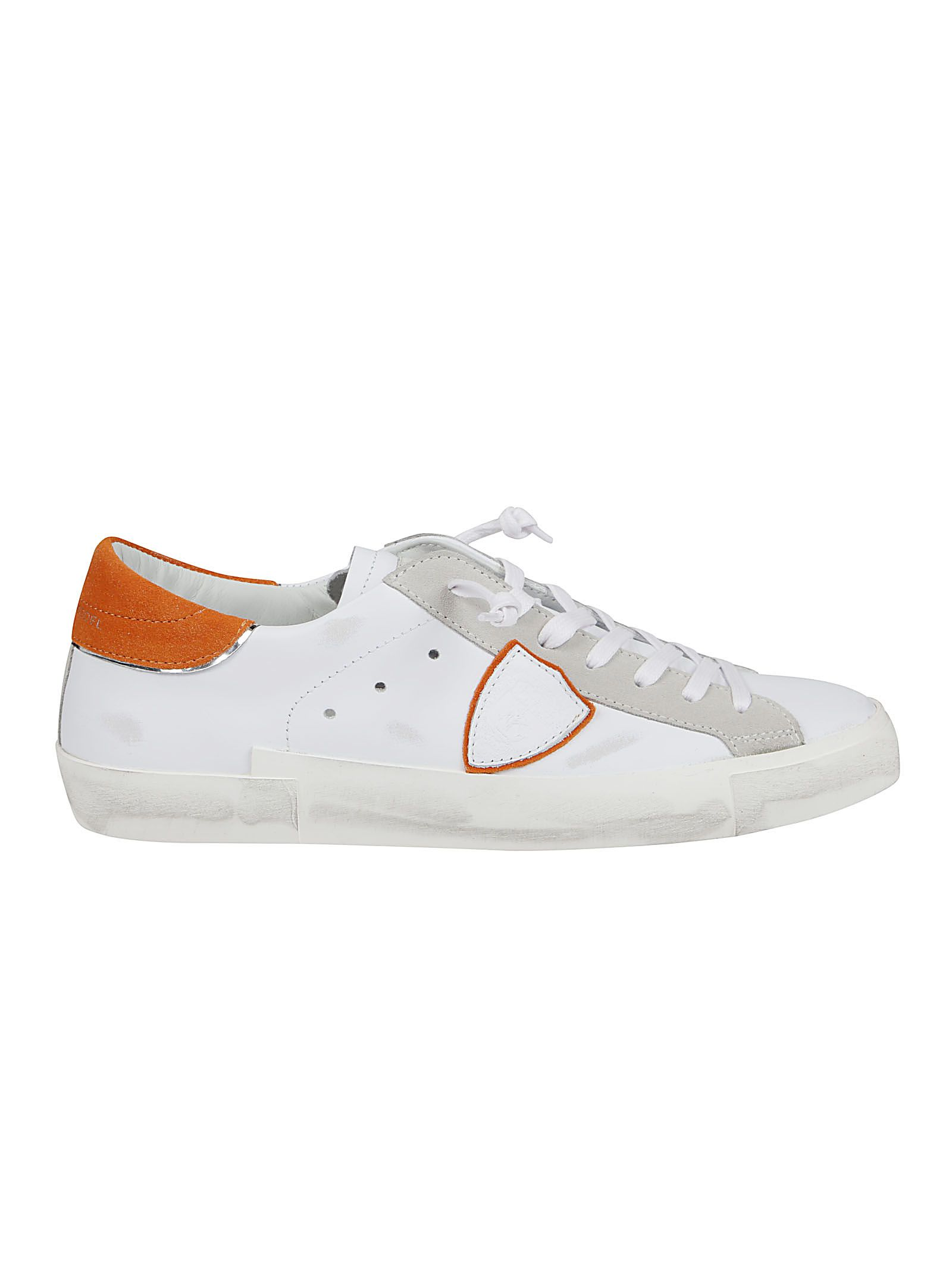 Philippe Model Sneakers PHILIPPE MODEL MEN'S PRLUVX21 WHITE OTHER MATERIALS SNEAKERS