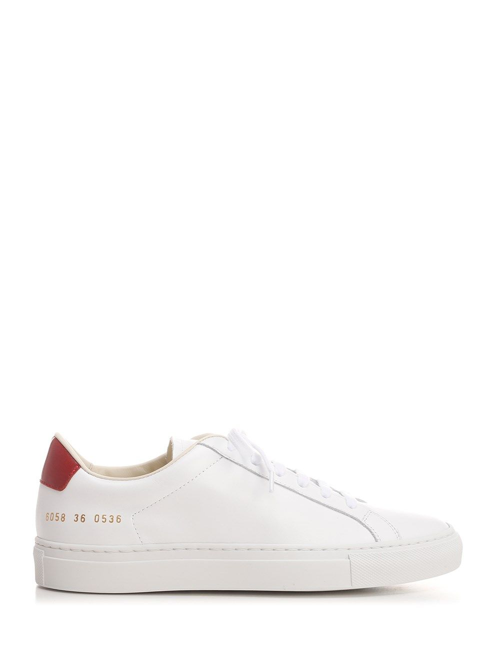 Common Projects Low tops COMMON PROJECTS WOMEN'S 60580536 WHITE OTHER MATERIALS SNEAKERS