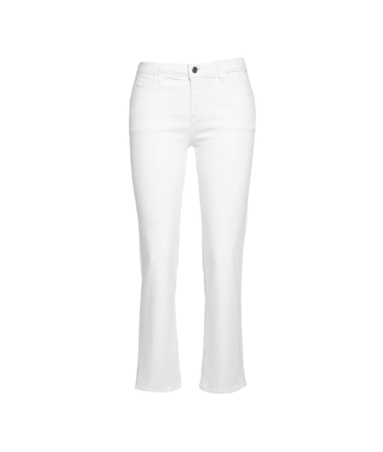 Guess Jeans GUESS WOMEN'S W1GA48D4DM111PMOO WHITE OTHER MATERIALS JEANS