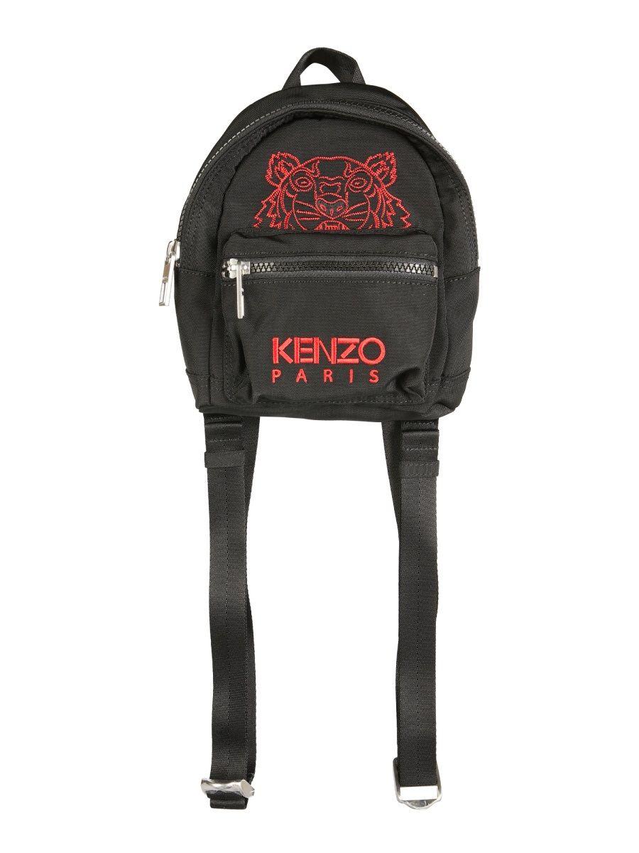 Kenzo KENZO MEN'S FB55SF301FQ999 BLACK OTHER MATERIALS BACKPACK