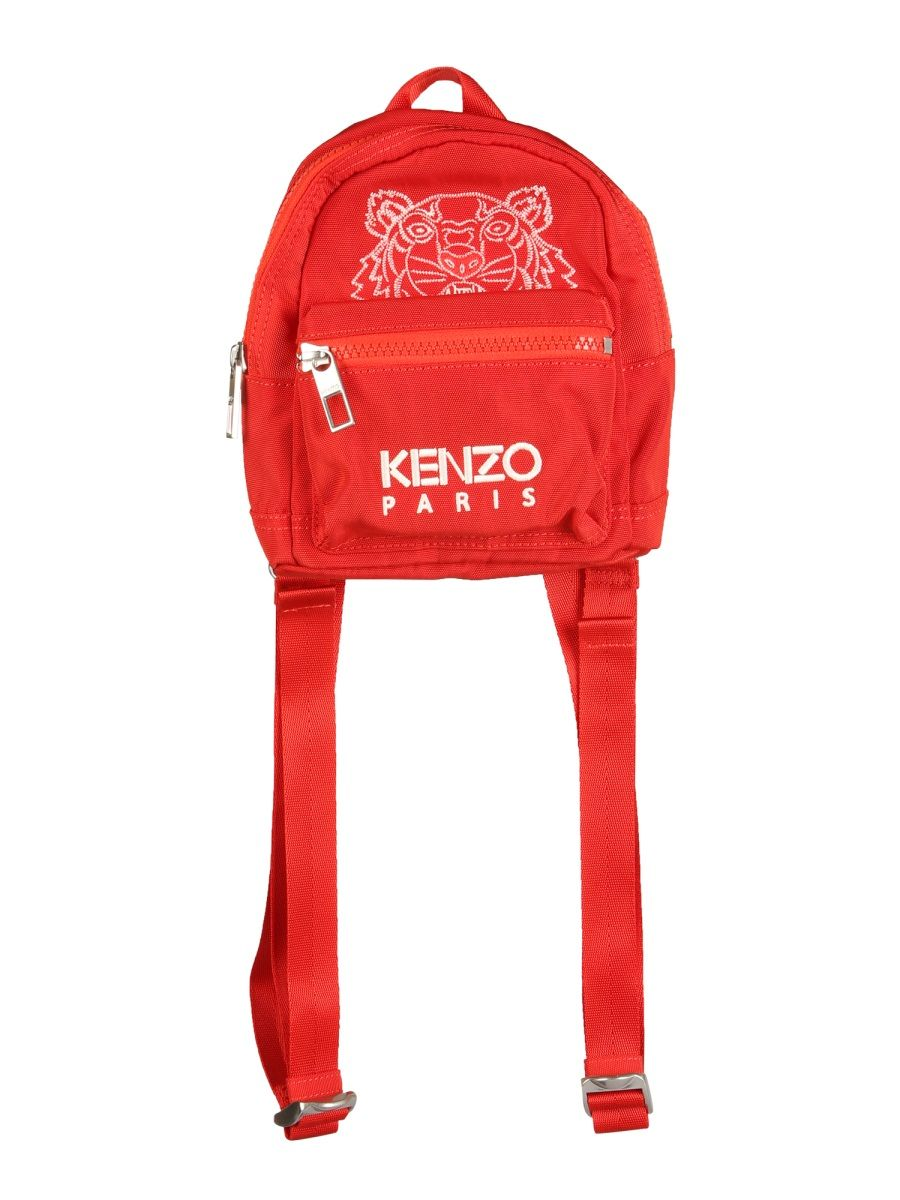 Kenzo KENZO MEN'S FB55SF301FQ921 RED OTHER MATERIALS BACKPACK