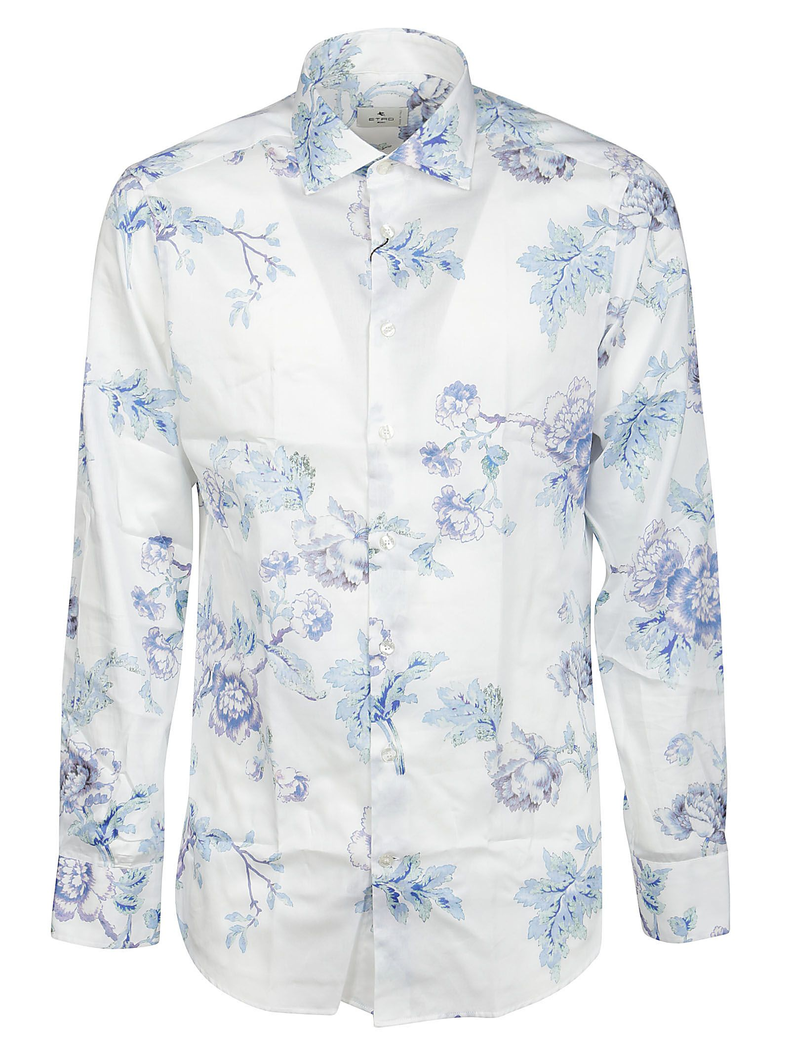 Etro Cottons ETRO MEN'S 1145147240990 WHITE OTHER MATERIALS SHIRT