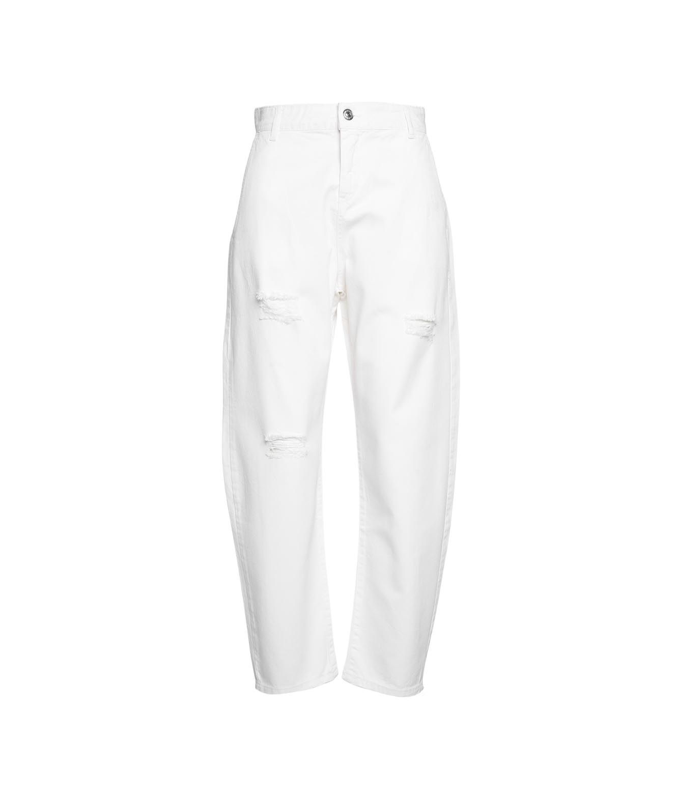 Aniye By Women's 1856451100001 White Other Materials Jeans