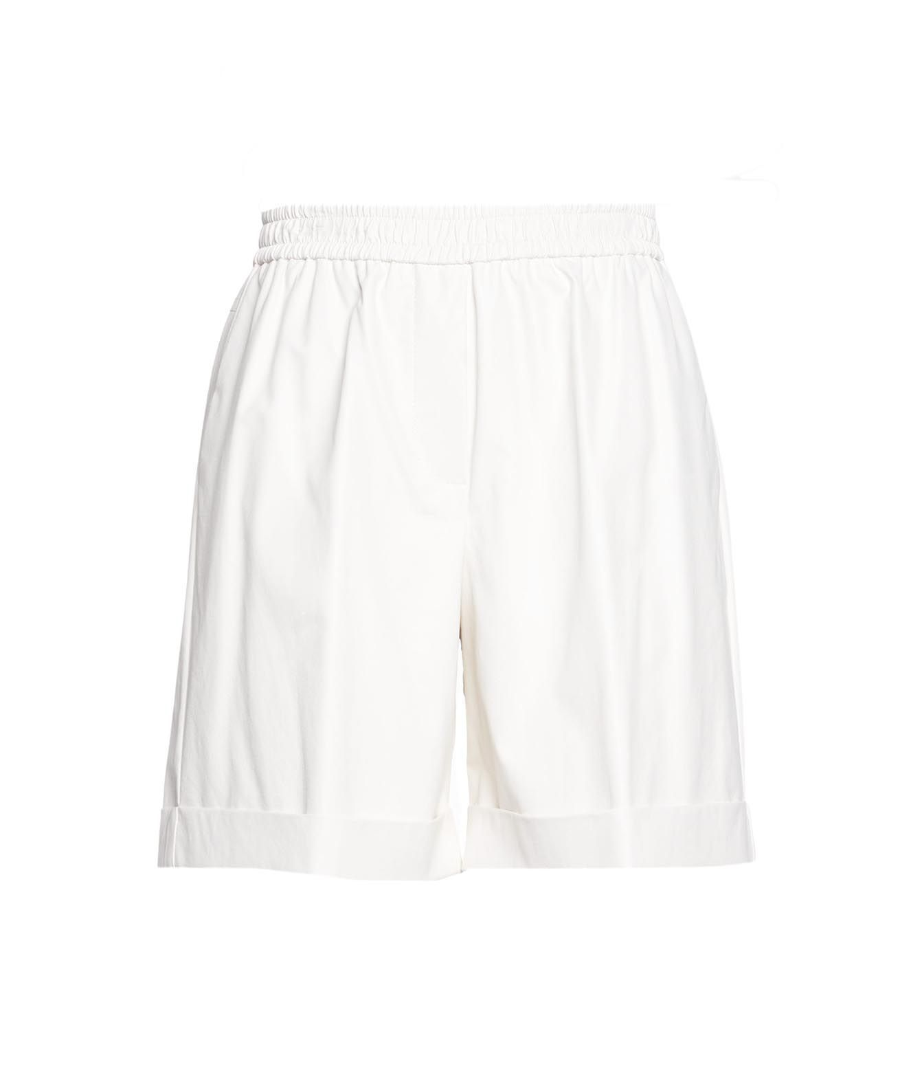 Nude NUDE WOMEN'S 11035591101 WHITE OTHER MATERIALS SHORTS