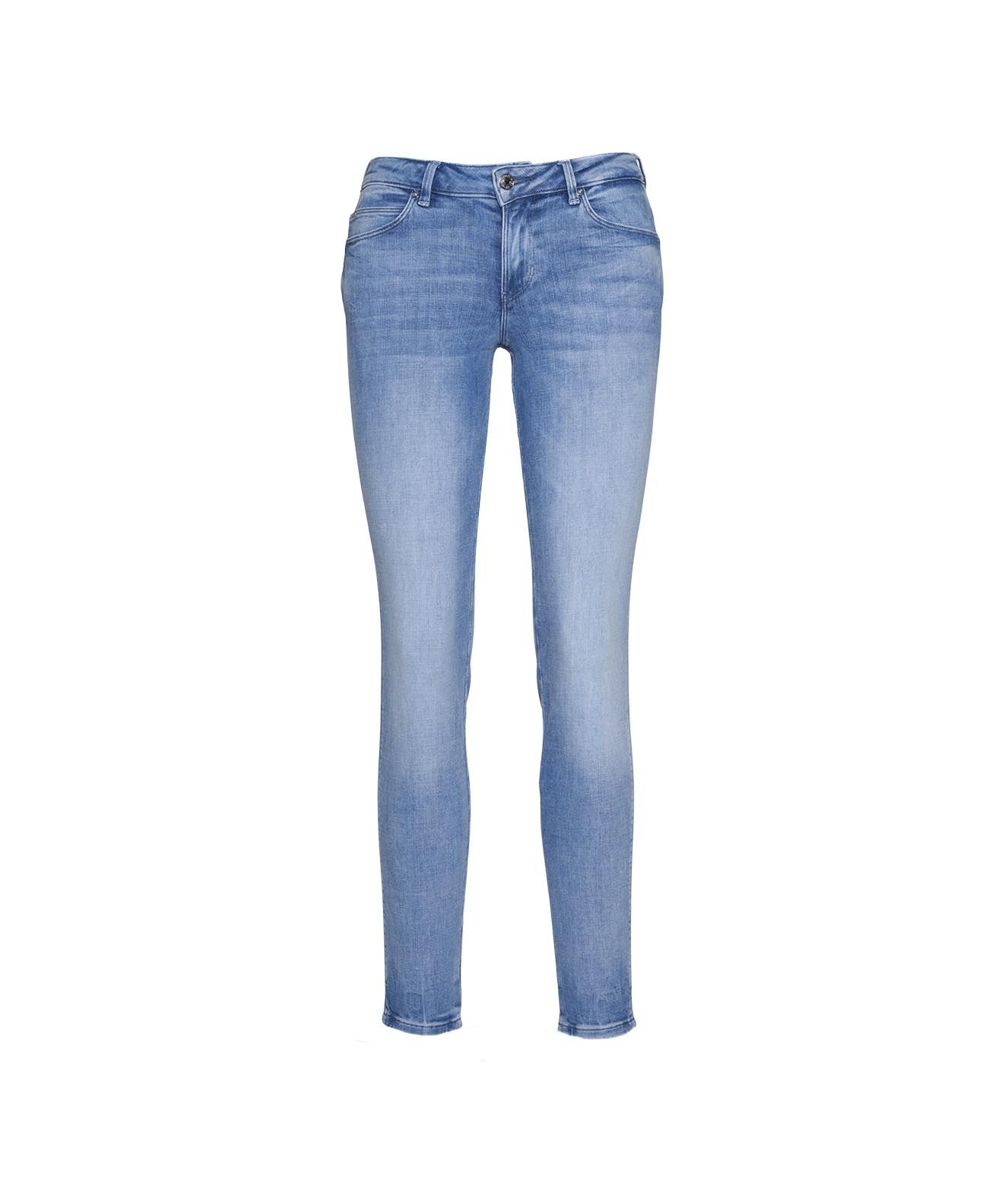 Guess Jeans GUESS WOMEN'S W1GAJ2D3ZT711POIP BLUE OTHER MATERIALS JEANS