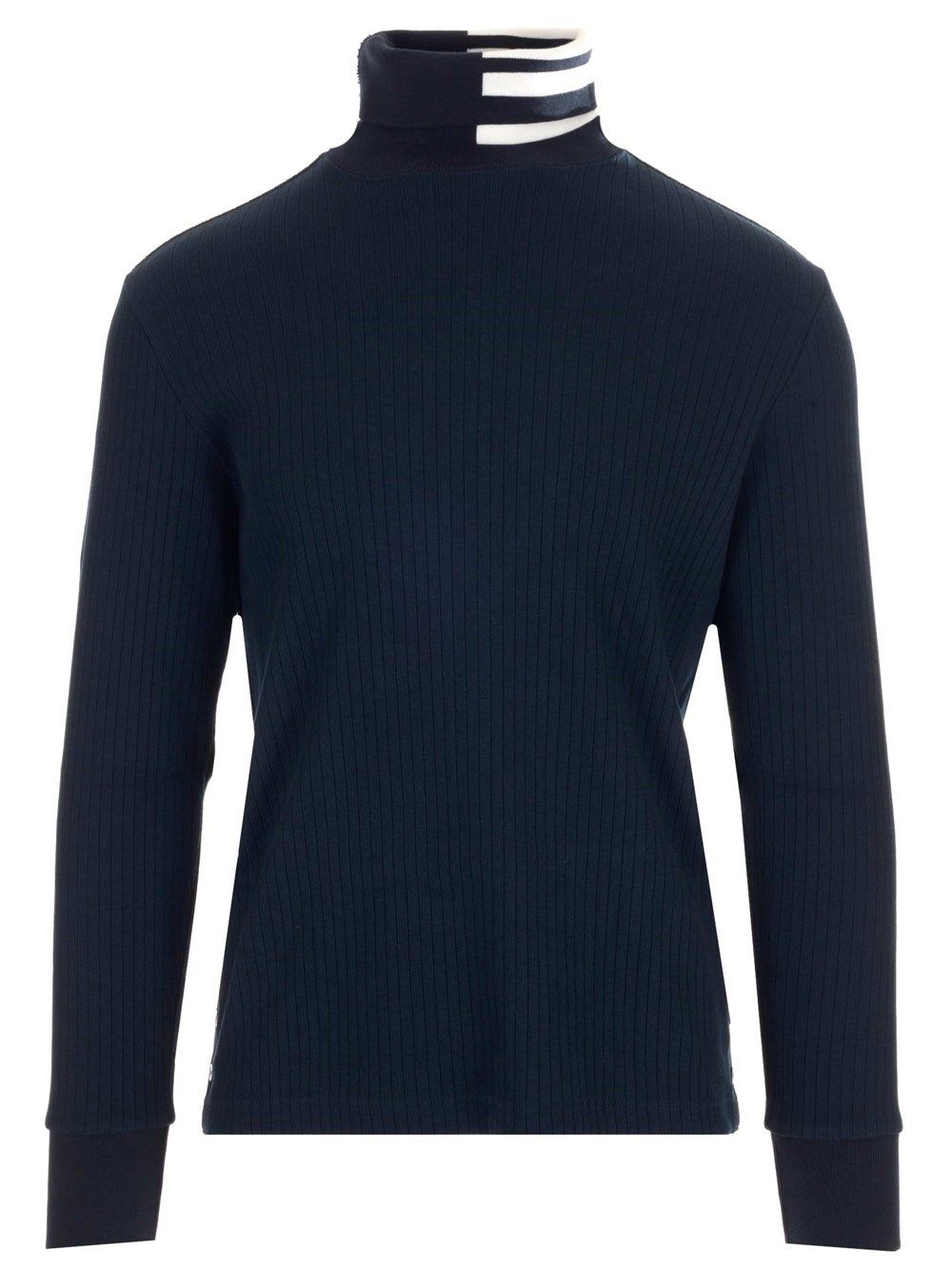 Thom Browne Cottons THOM BROWNE MEN'S MJS135A07063415 BLUE OTHER MATERIALS SWEATER