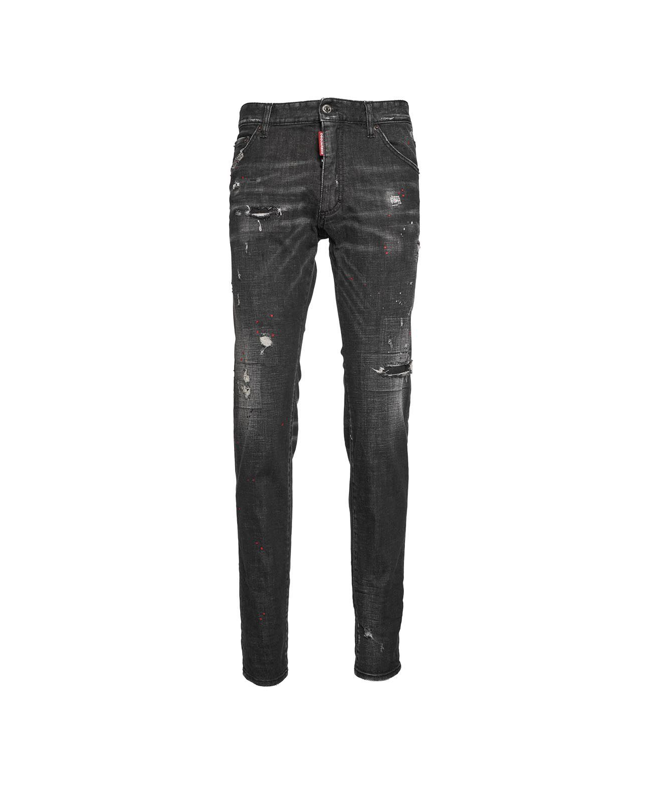 Dsquared2 Jeans DSQUARED2 MEN'S S74LB0878S3035711900 GREY OTHER MATERIALS JEANS