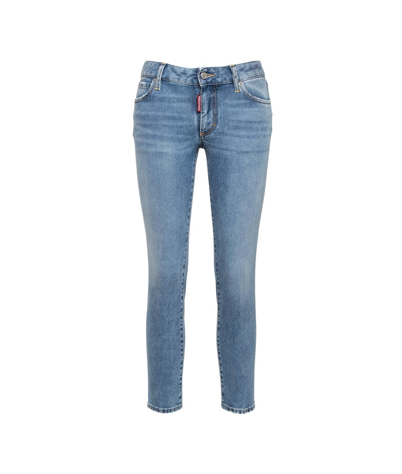 Dsquared2 Jeans DSQUARED2 WOMEN'S S75LB0471S3059511470 BLUE OTHER MATERIALS JEANS