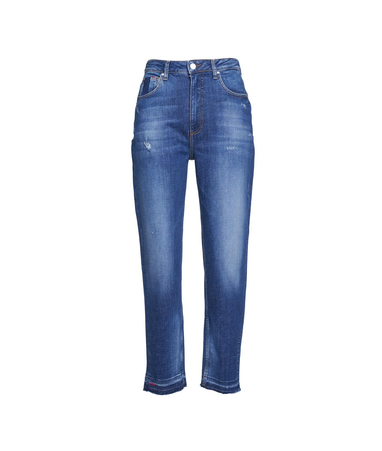 Guess Jeans GUESS WOMEN'S W1RA21D46A411GLRS BLUE OTHER MATERIALS JEANS